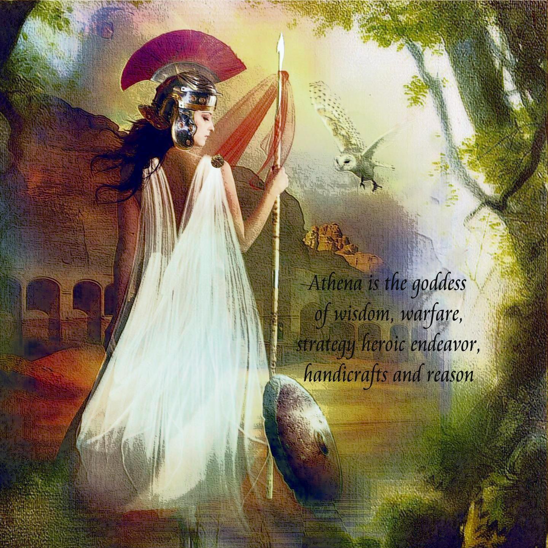 Athena Greek Goddess Wallpapers - Wallpaper Cave