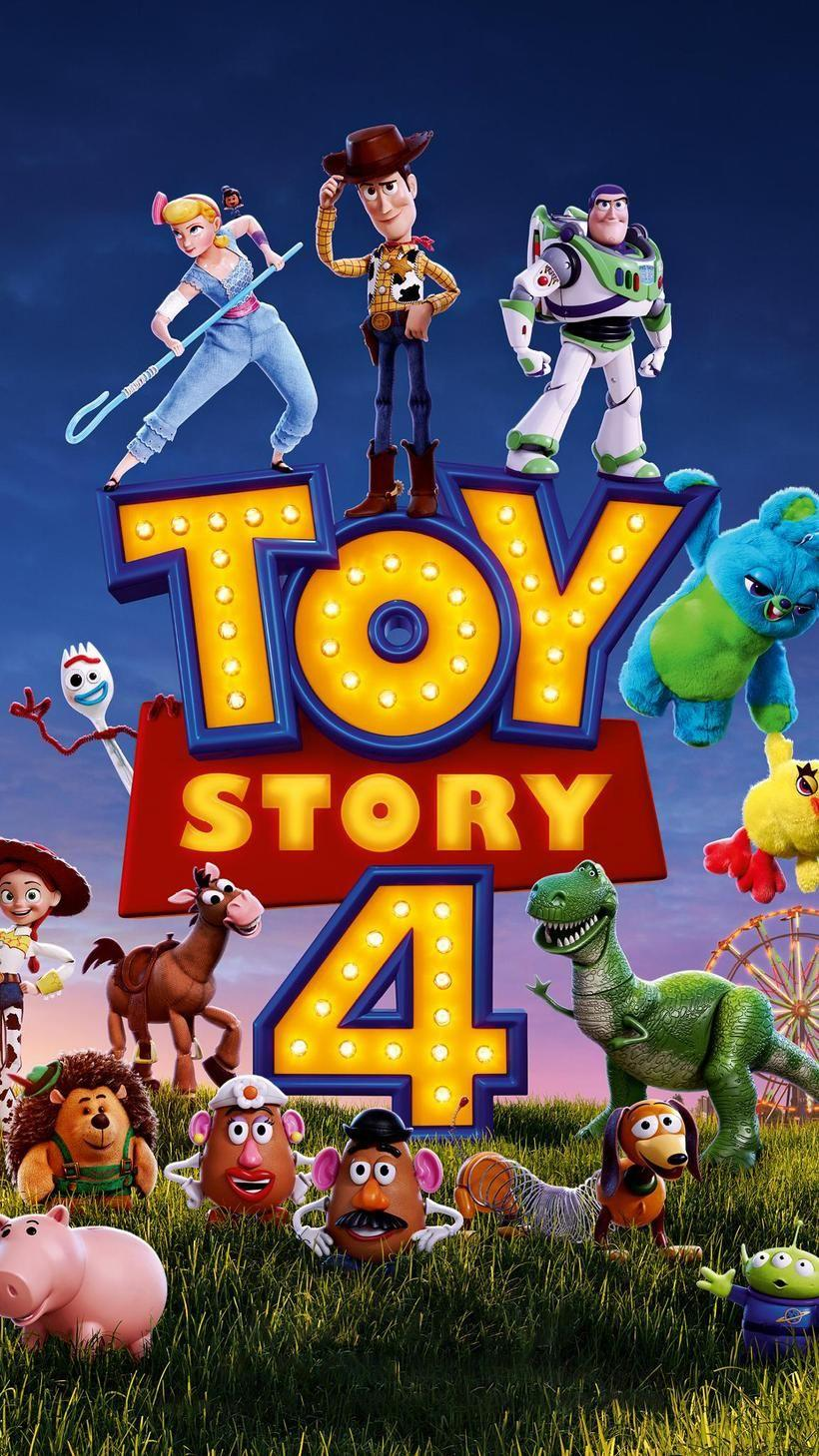 Toy Story 4 (2019) Phone Wallpaper | Disney | Movie posters, Toy ...