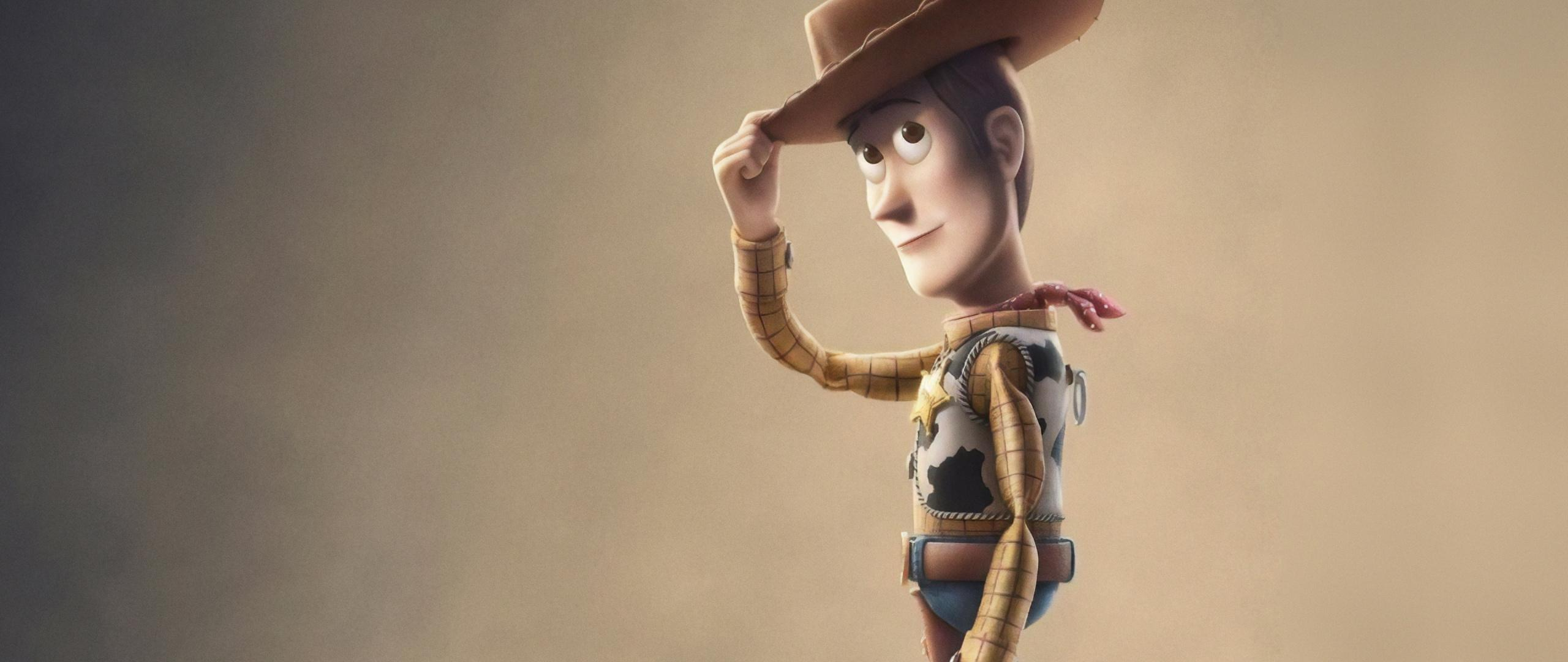 Download 2560x1080 wallpaper toy story 4, woody, animation movie ...