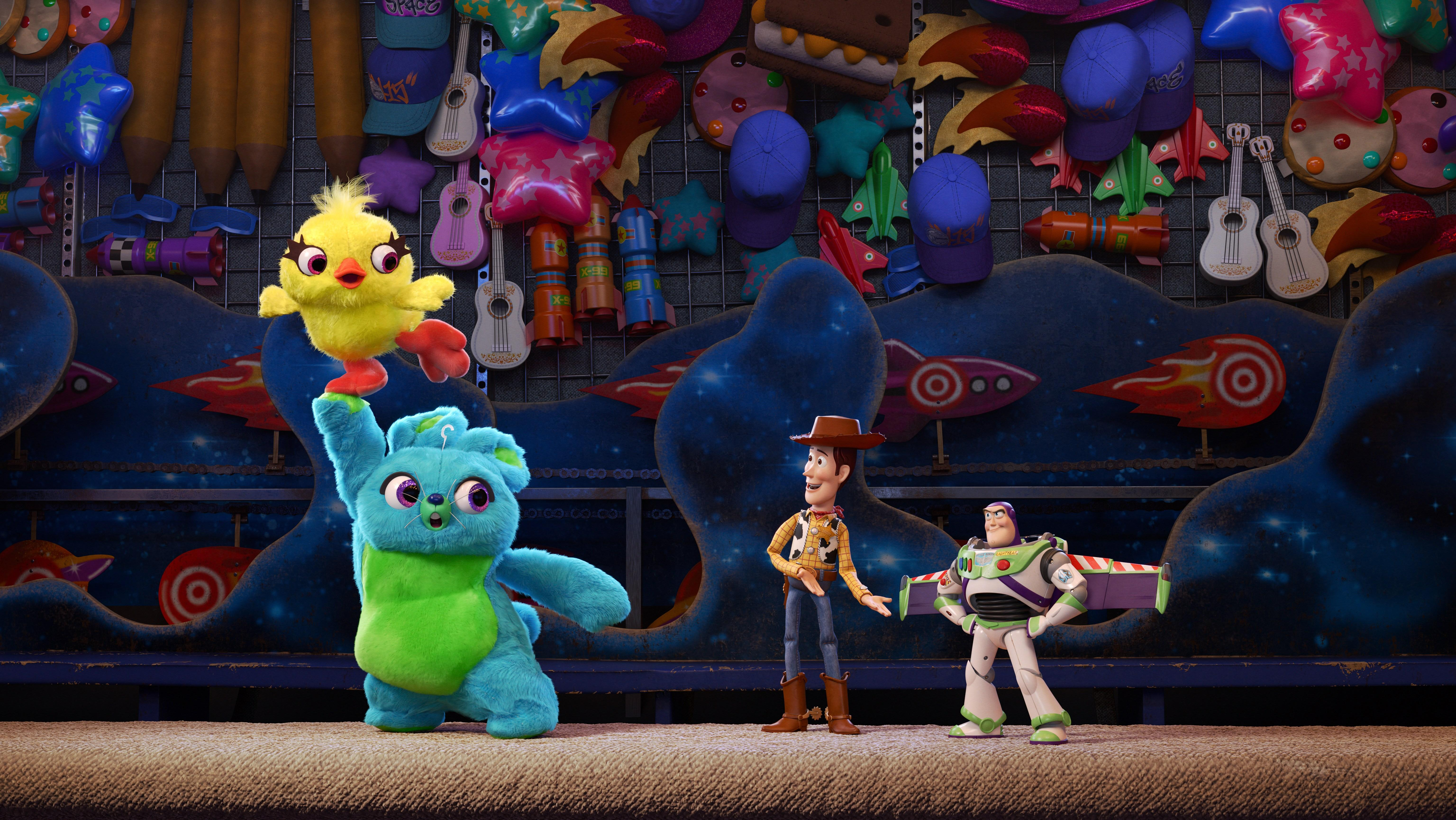 Wallpaper Toy Story 4, Woody, Buzz Lightyear, Animation, 2019, 5K ...
