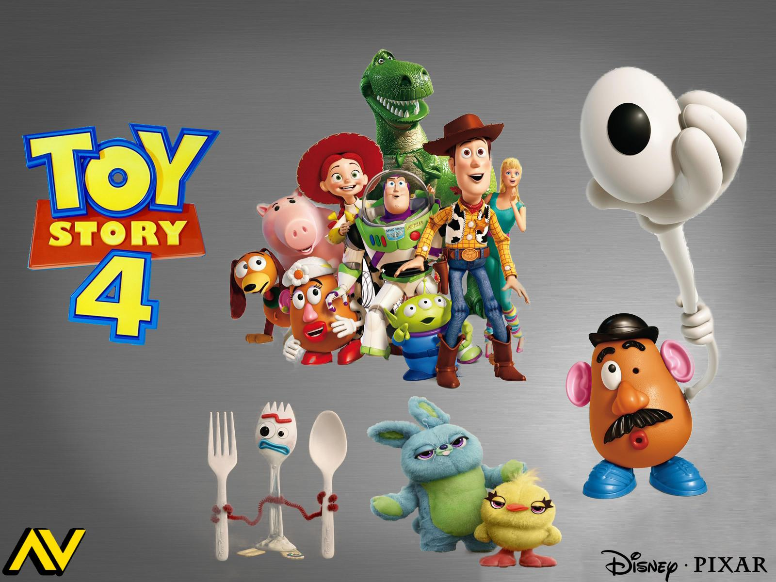 Pixar's Toy Story 4 Wallpapers - Wallpaper Cave