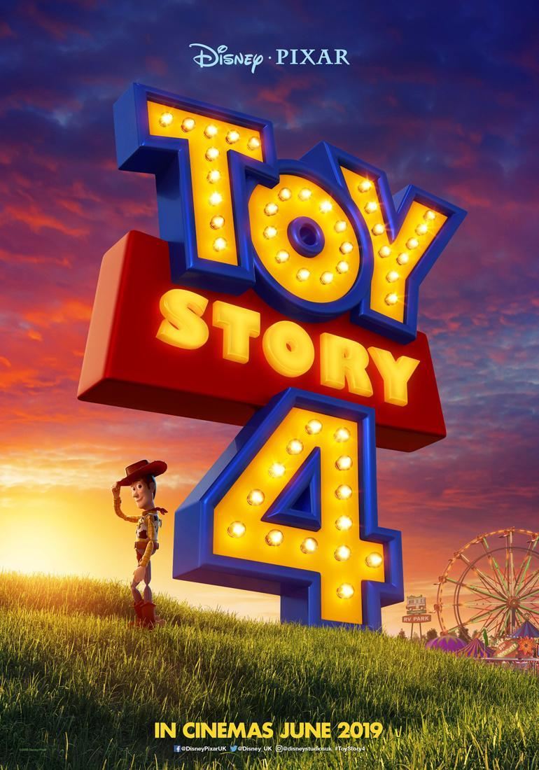 New Toy Story 4 poster : movies