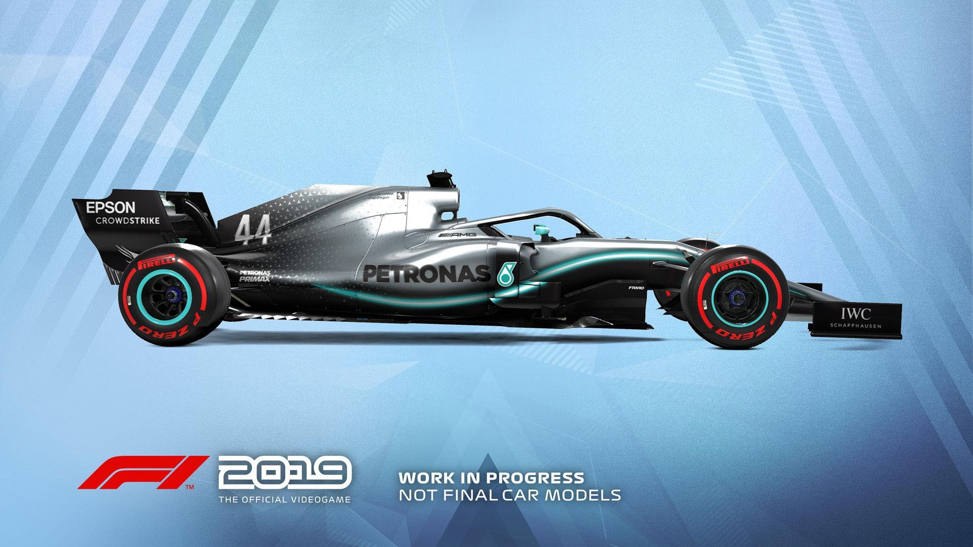 F1 Mercedes 2019 Wallpaper