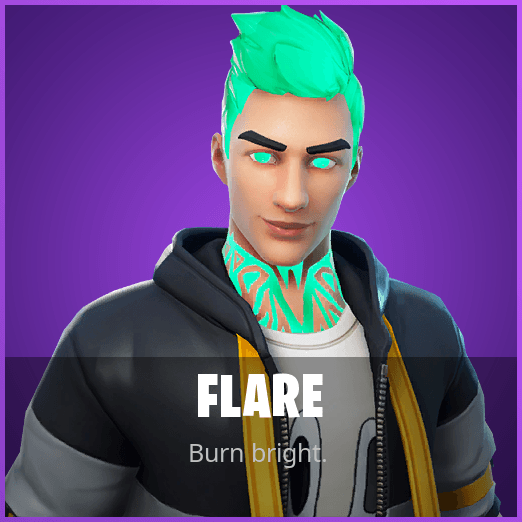 Flare Fortnite wallpapers