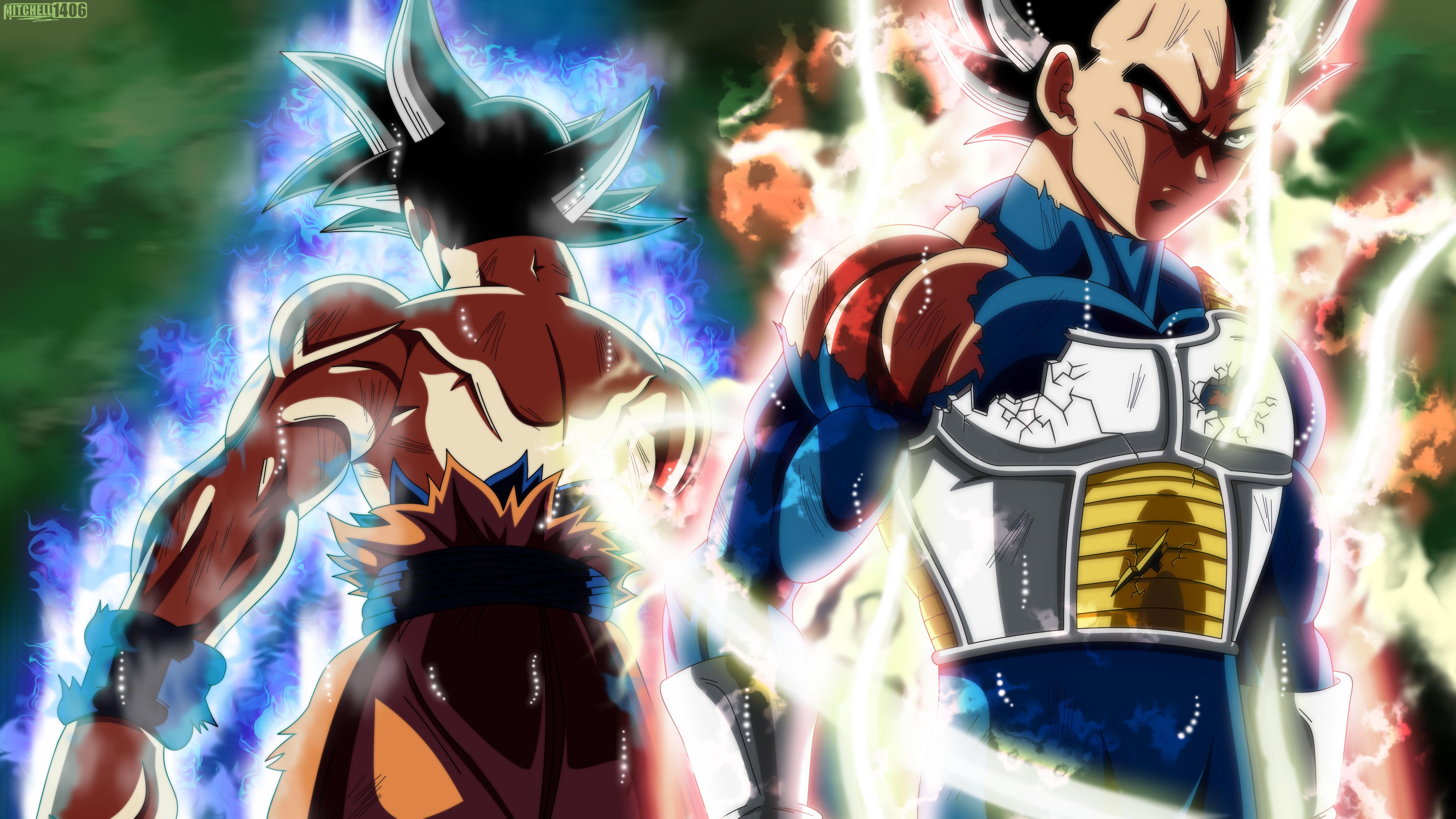 Goku And Vegeta Ultra Instinct Wallpapers Wallpaper Cave