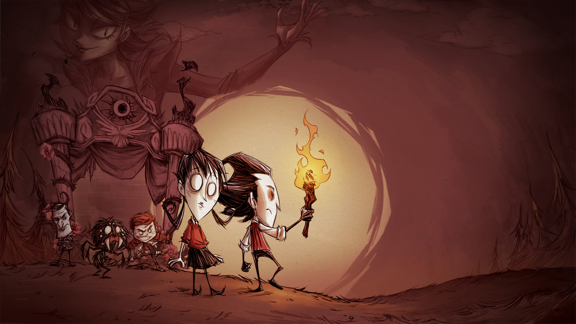 Dont Starve Together Wallpapers Wallpaper Cave