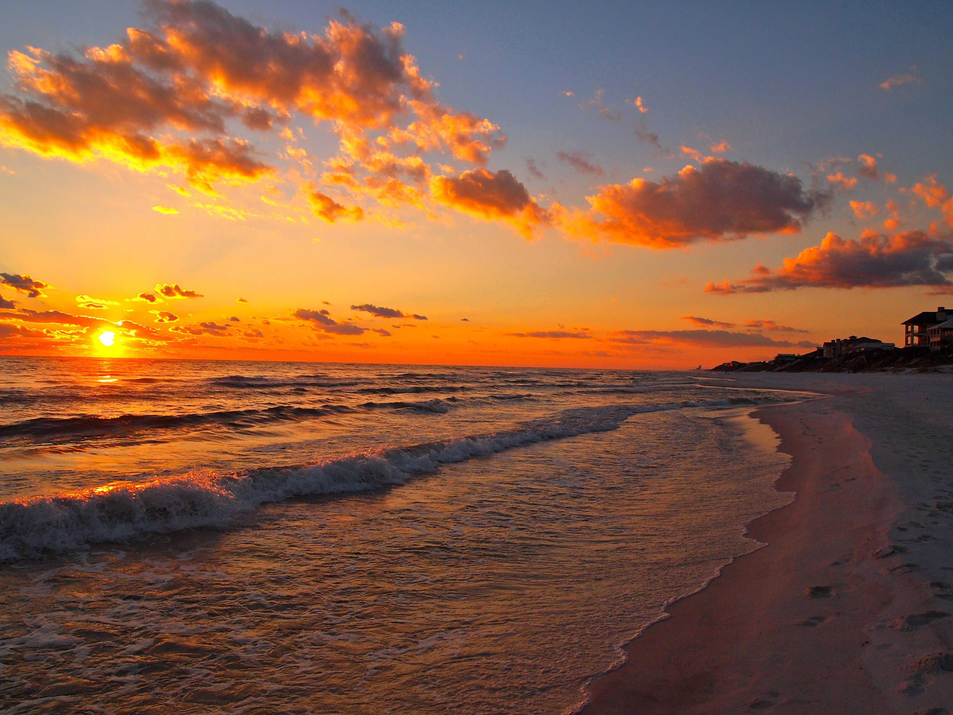 Aesthetic Beach Sunset Wallpapers - Wallpaper Cave