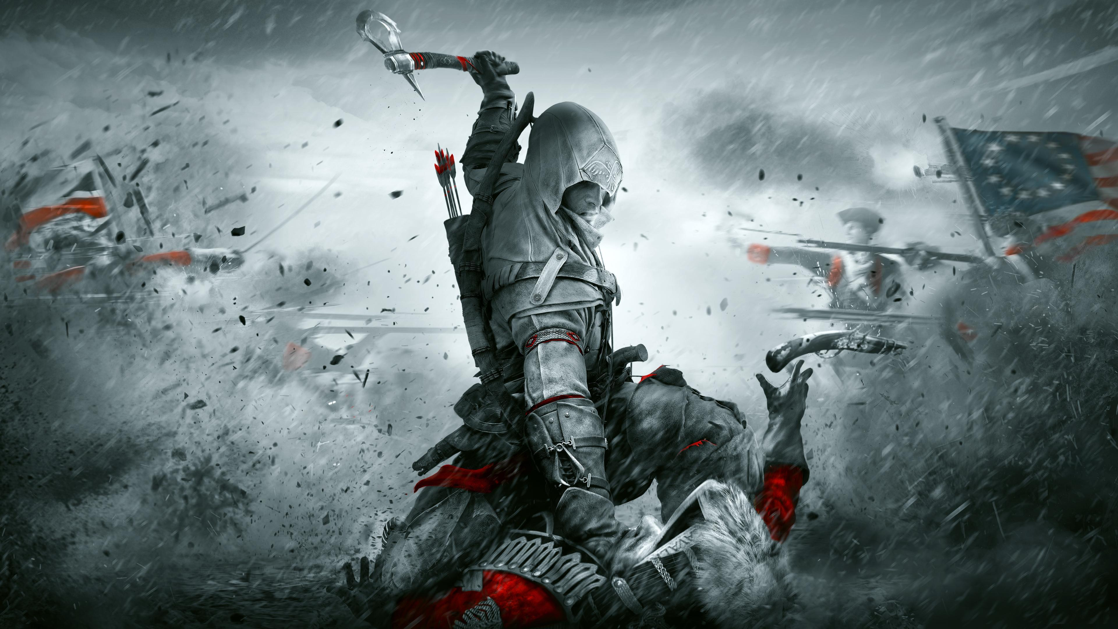 Assassin S Creed Iii 4k Wallpapers Wallpaper Cave