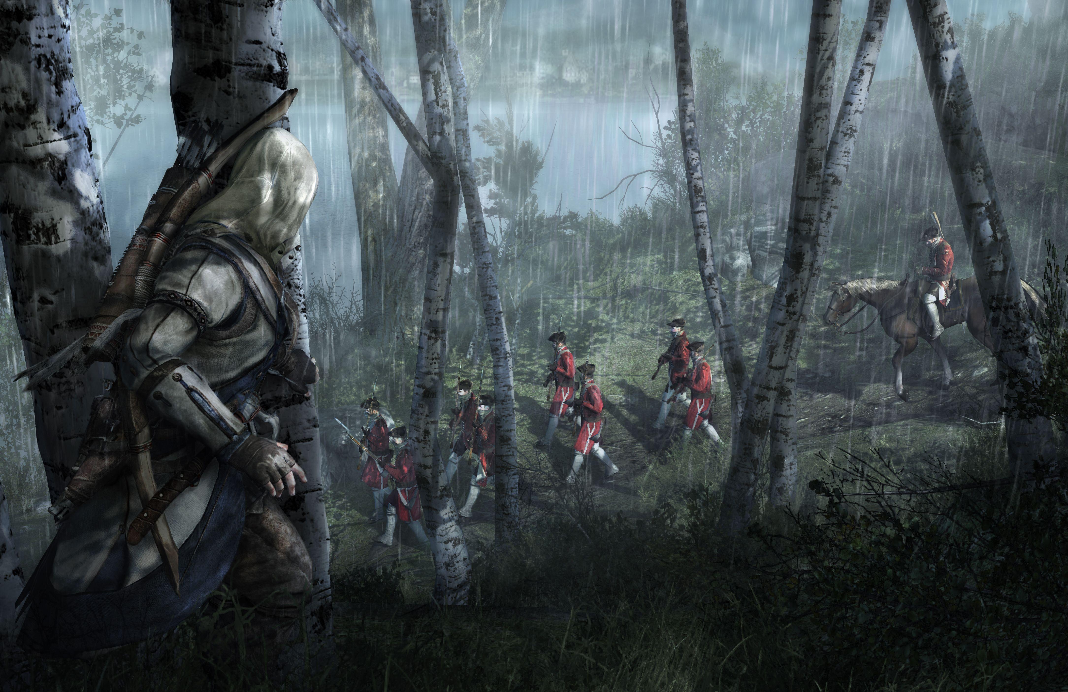 Assassin S Creed Iii 4k Wallpapers Wallpaper Cave