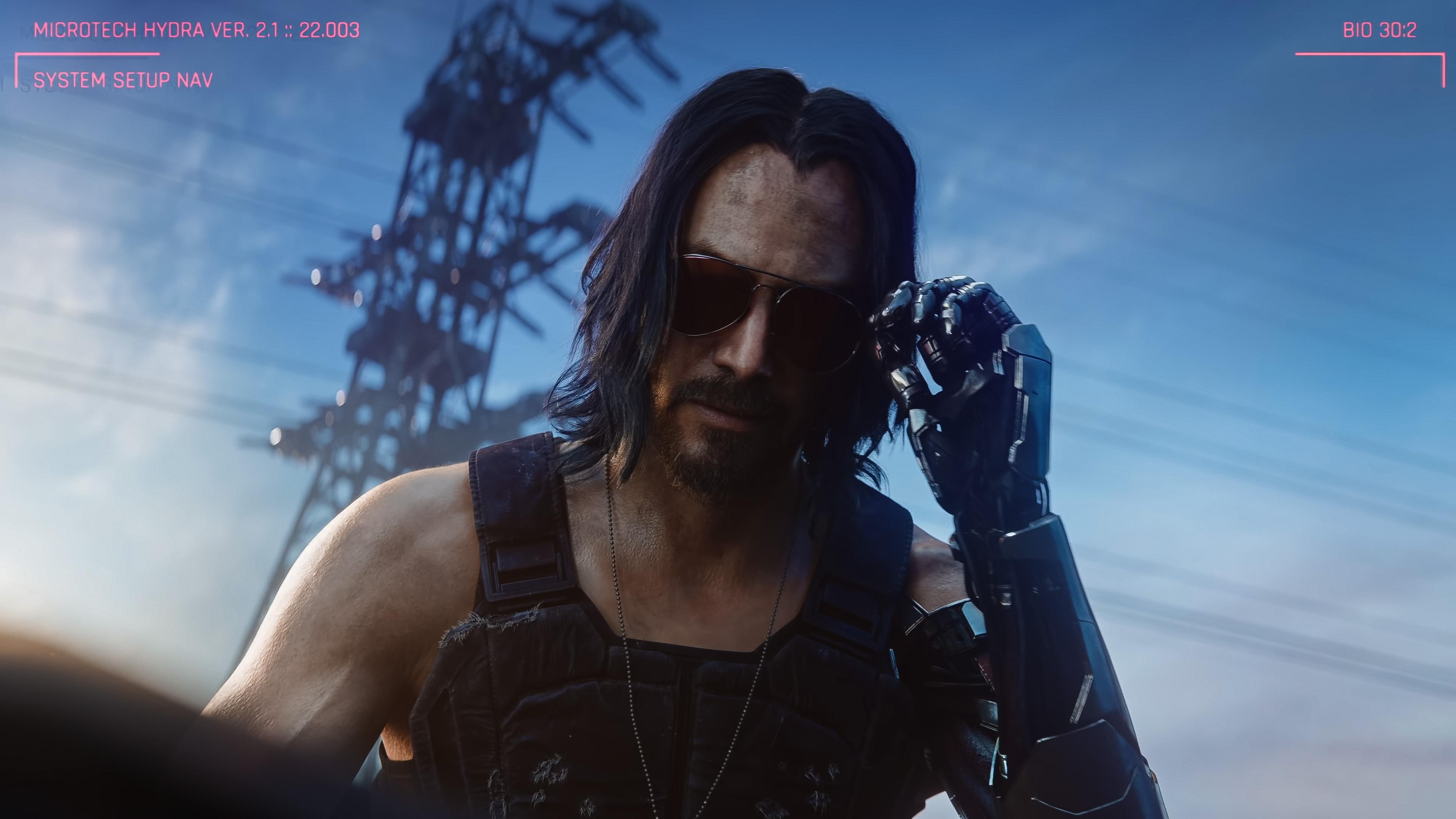 Keanu Reeves Cyberpunk 2077 Wallpapers Wallpaper Cave
