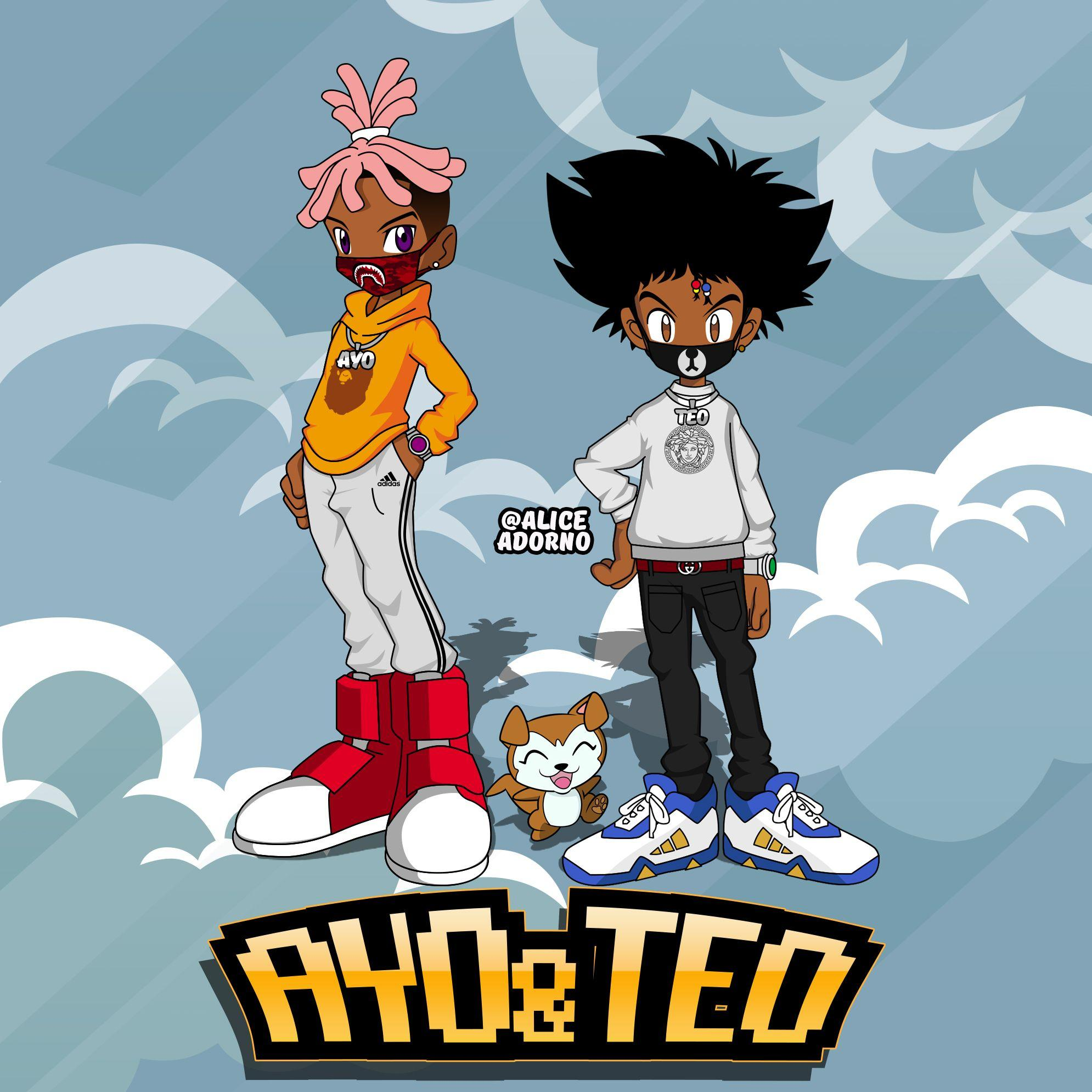 Ayo And Teo And NBA YoungBoy Wallpapers