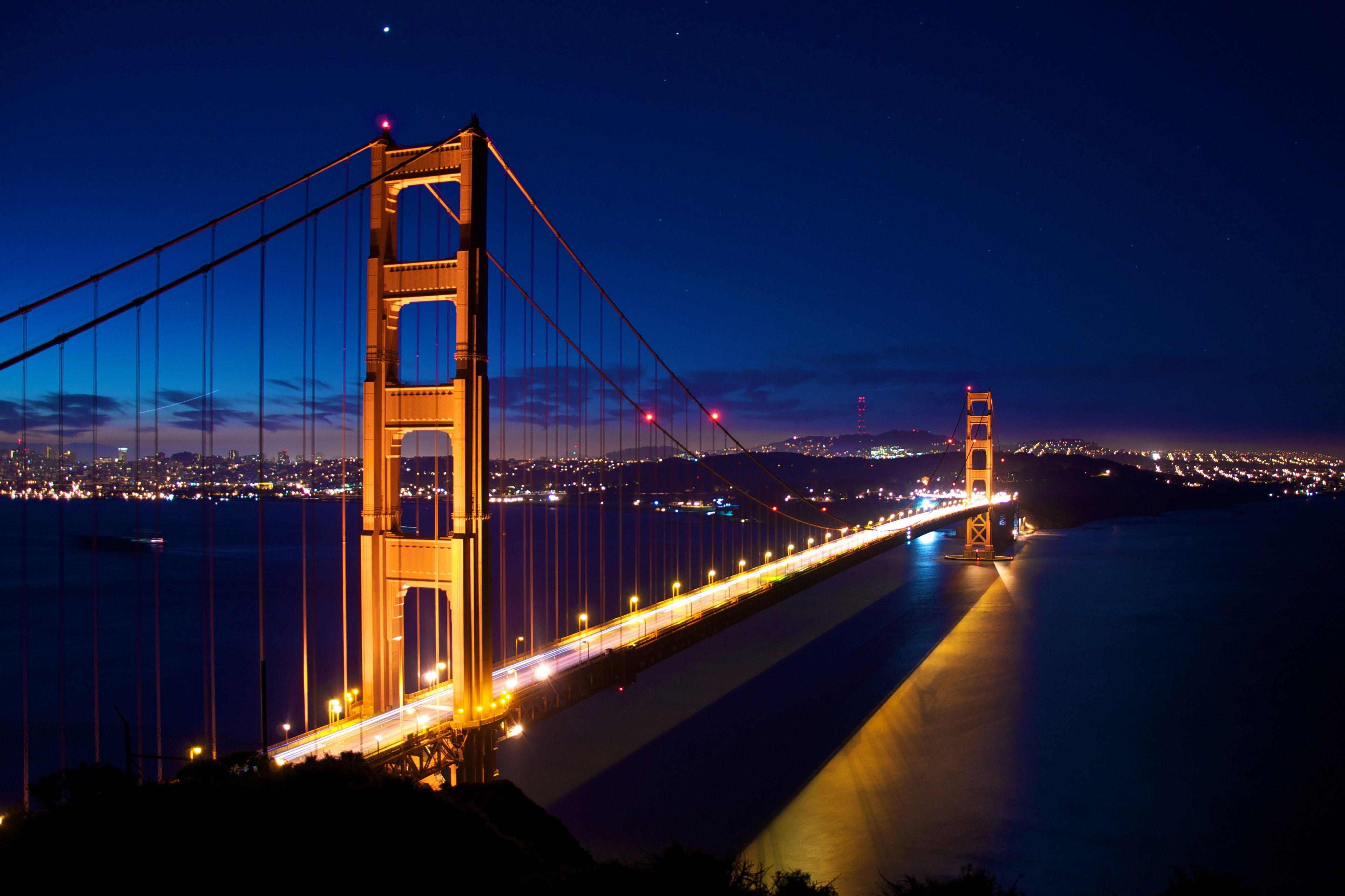 Golden Gate Bridge Evening San Francisco Wallpapers ...