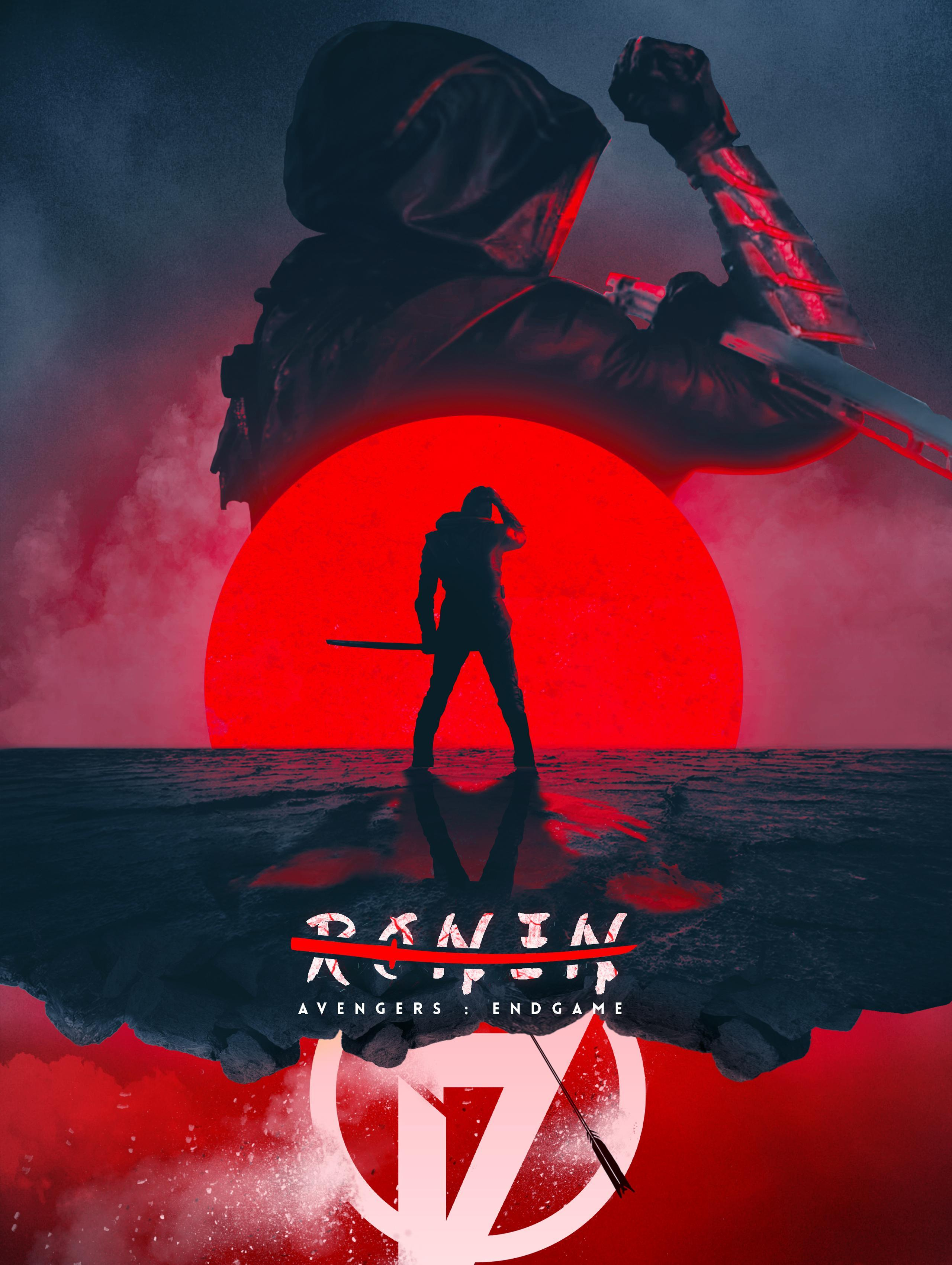 Wallpapers Ronin, Avengers: Endgame, Avengers 4, Fan art, HD