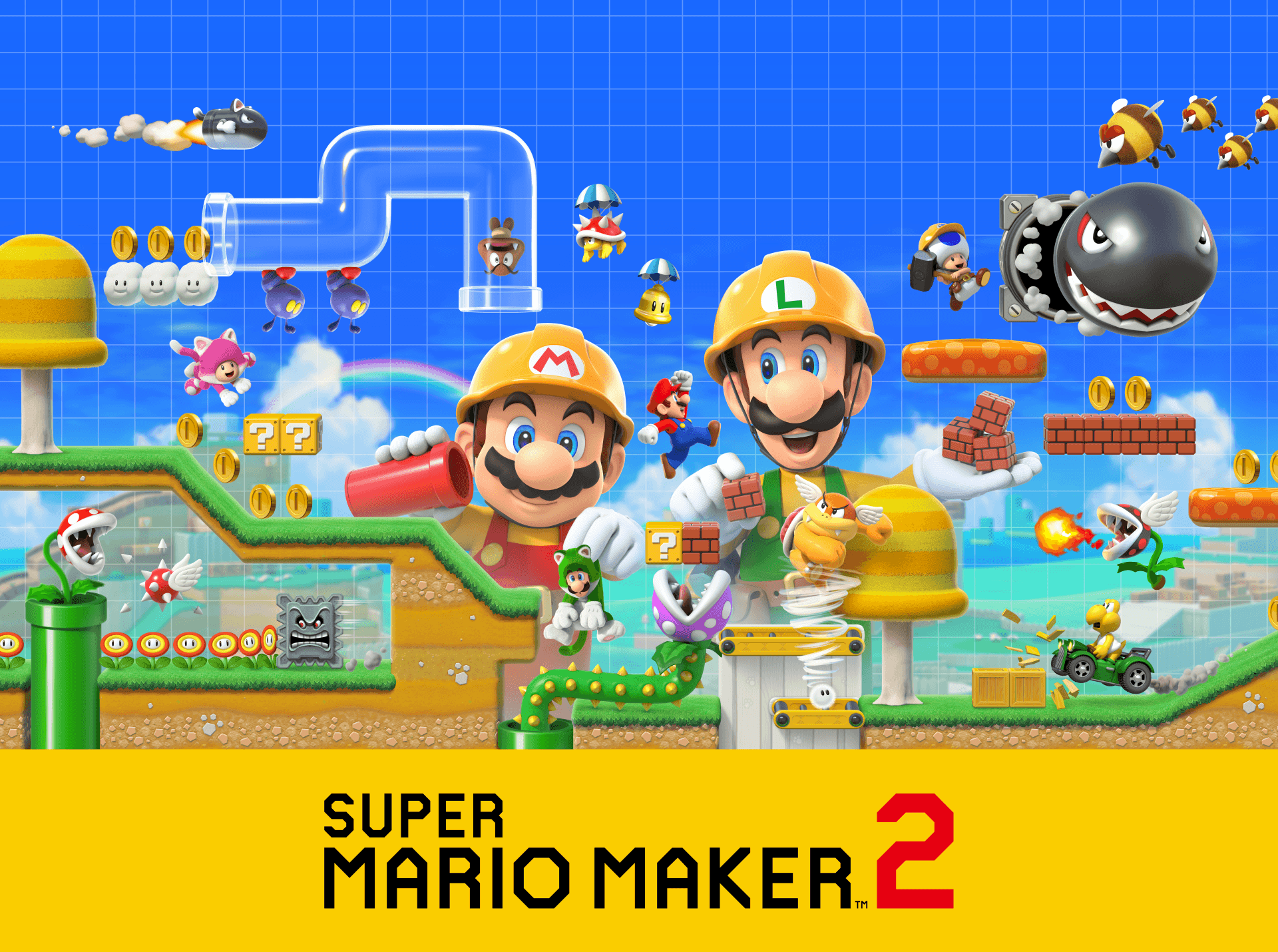 Super Mario Maker 2 Wallpapers Wallpaper Cave