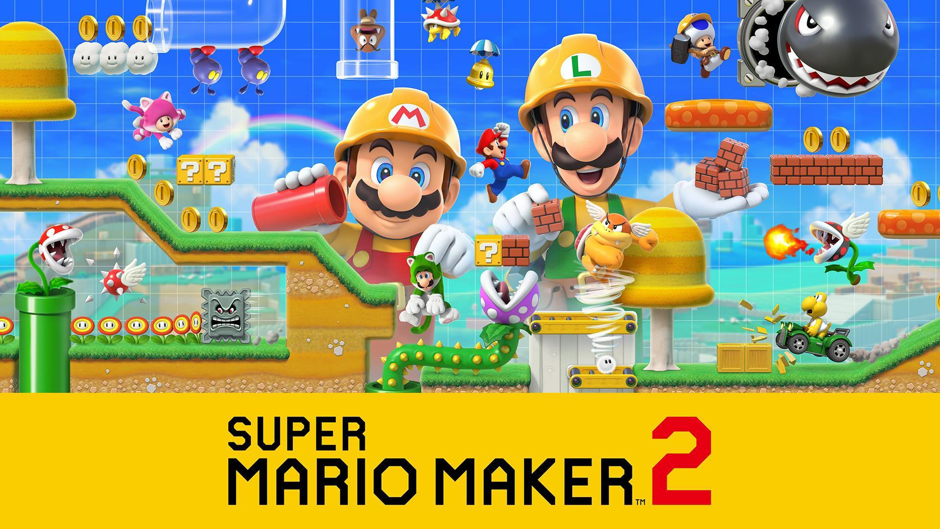 Super Mario Maker 2 HD Wallpapers - Wallpaper Cave