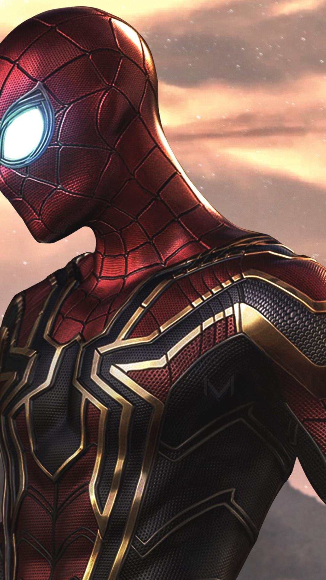 Spider Man 2019 Far From Home Iphone Wallpapers With
