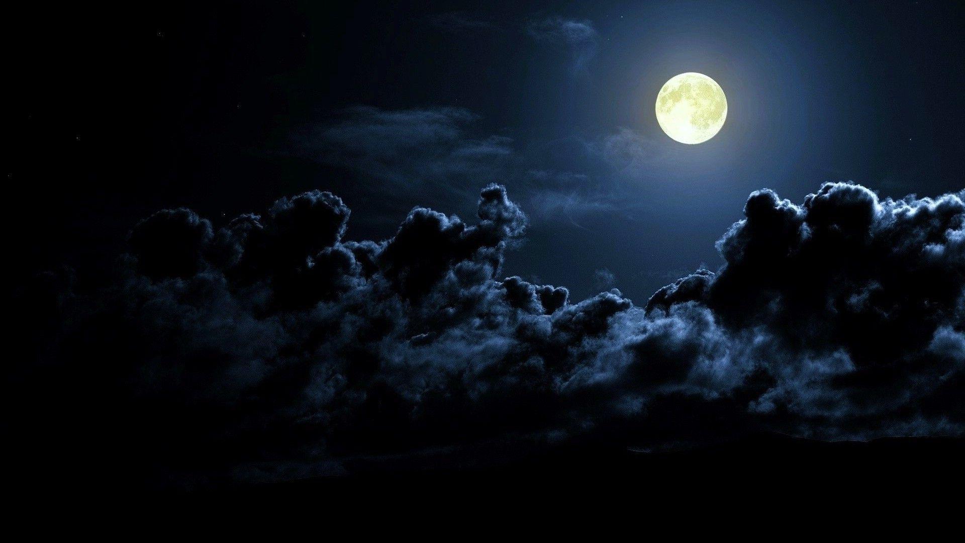 Man In Moon Hd Wallpaper Wallpaper Download Free