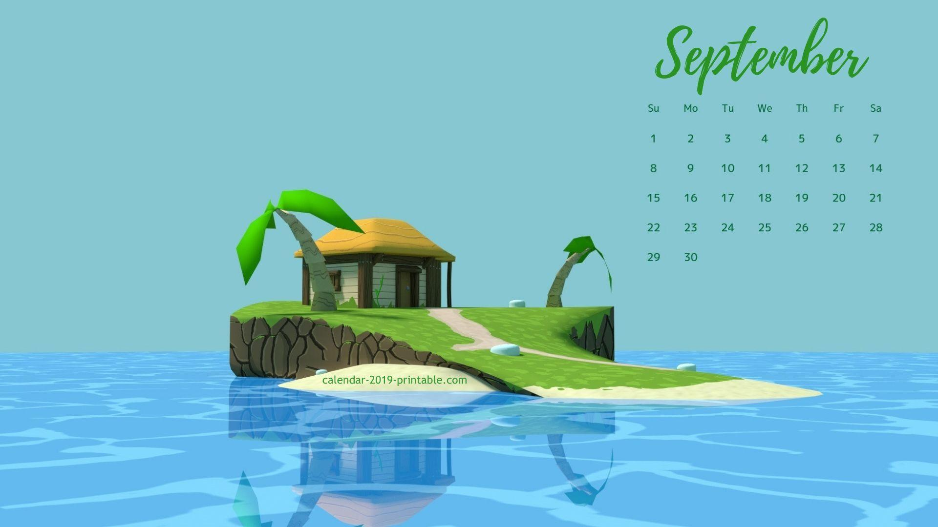 free september 2019 hd wallpapers calendar