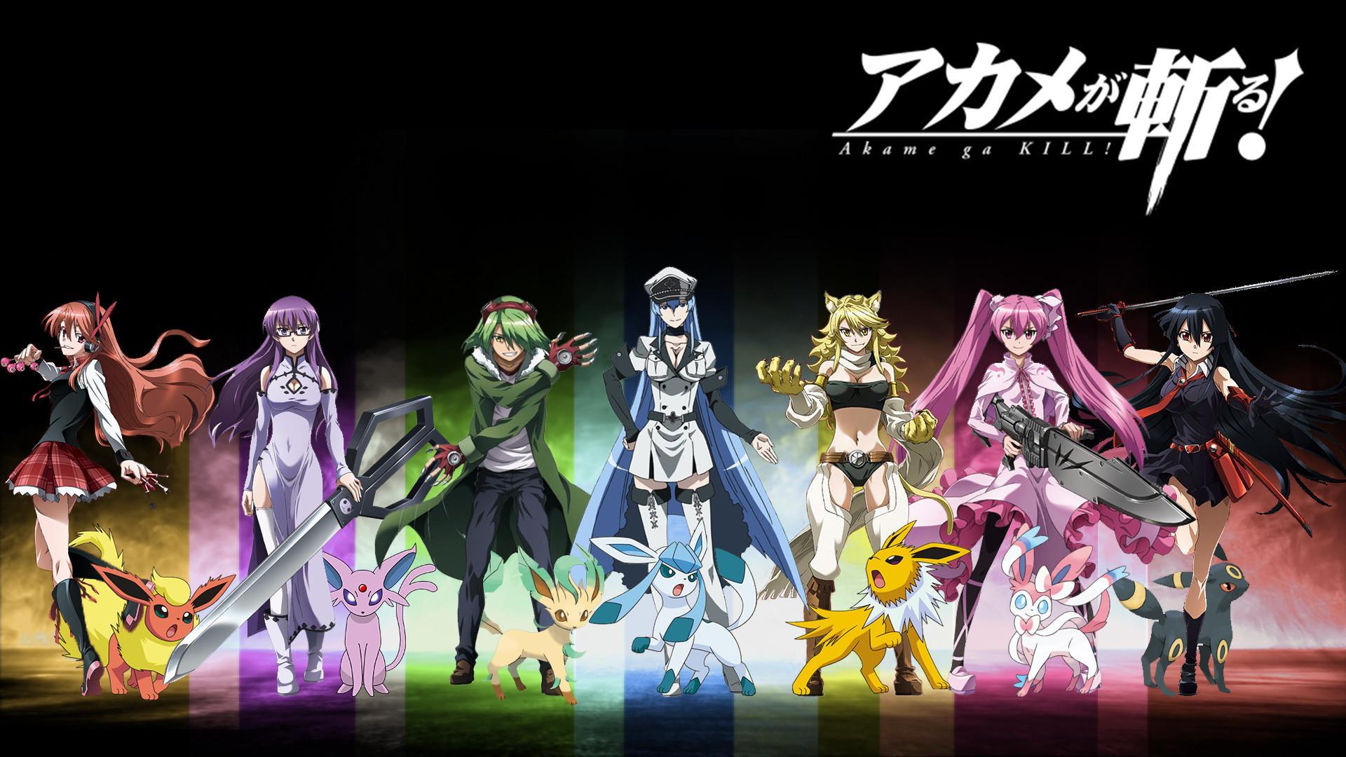Akame Ga Kill Anime Wallpapers Wallpaper Cave