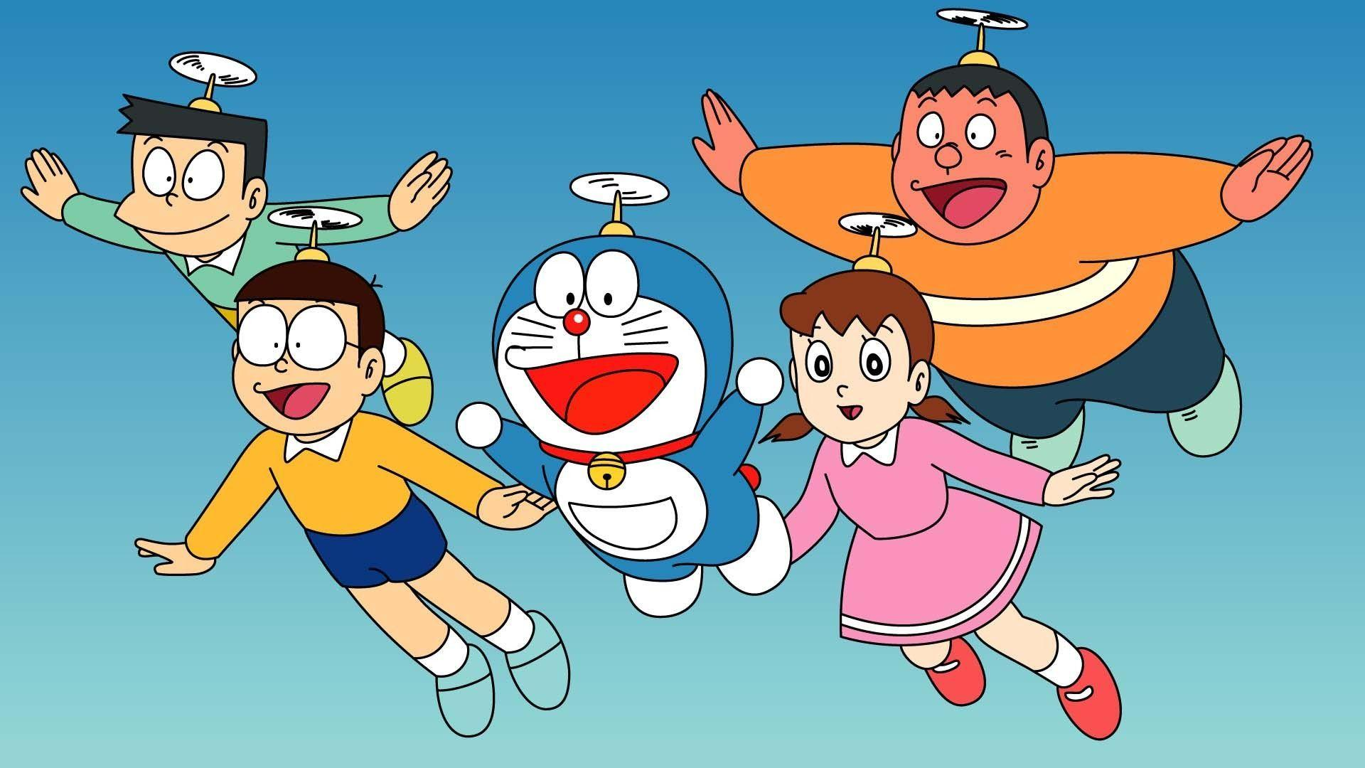 Doraemon Robot Wallpapers - Wallpaper Cave