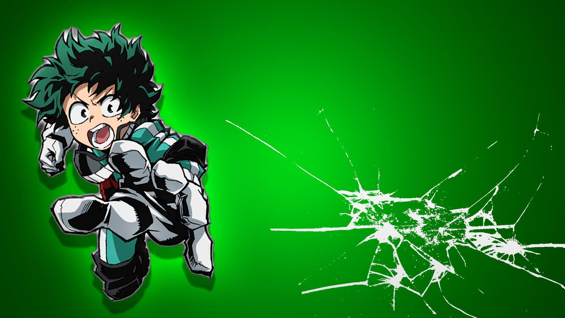 A Quick, Simple Wallpapers of Izuku from My Hero Academia