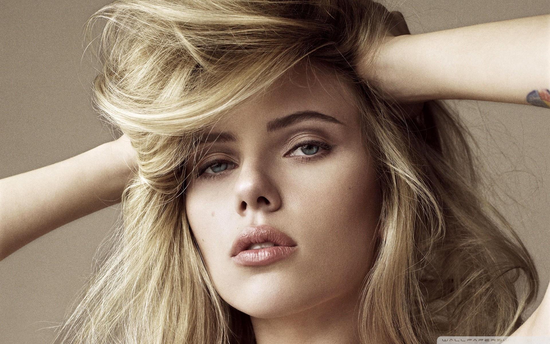 Scarlett Johansson Blonde Wallpapers Wallpaper Cave