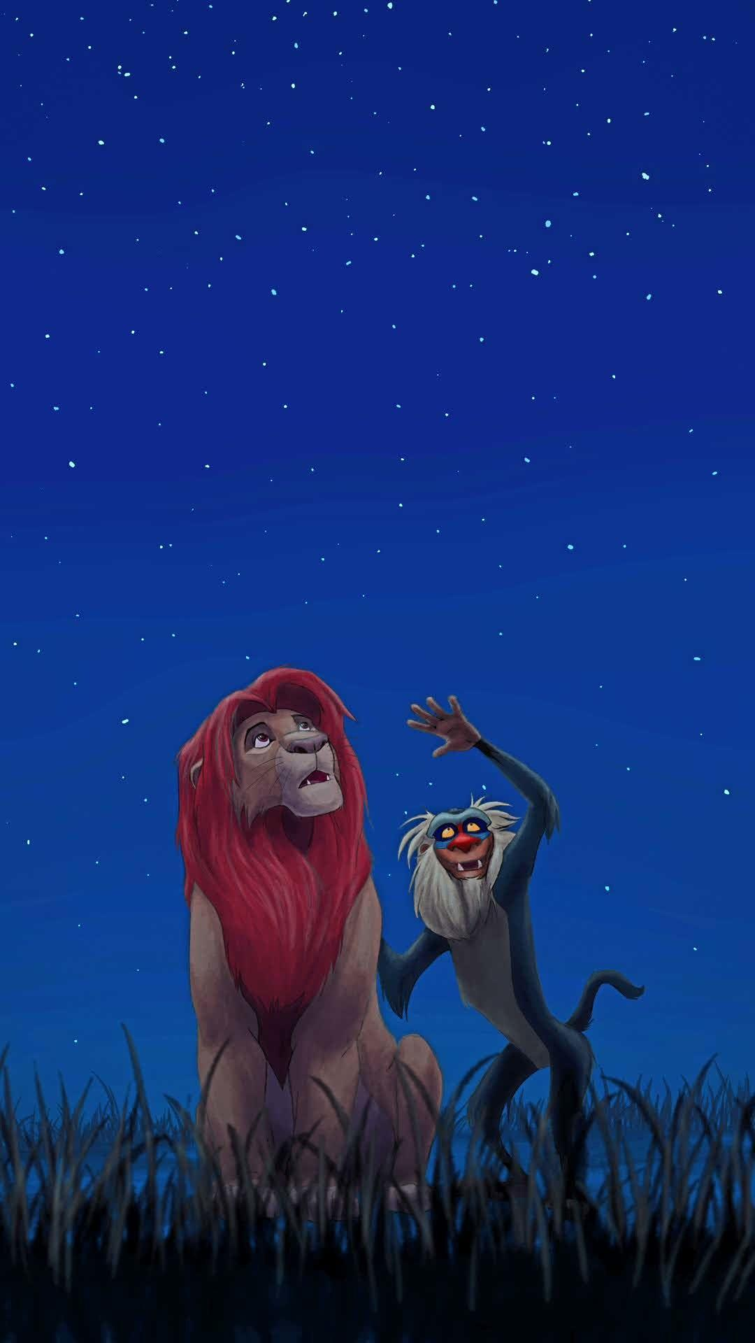 Simba And Mufasa The Lion King Wallpapers - Wallpaper Cave