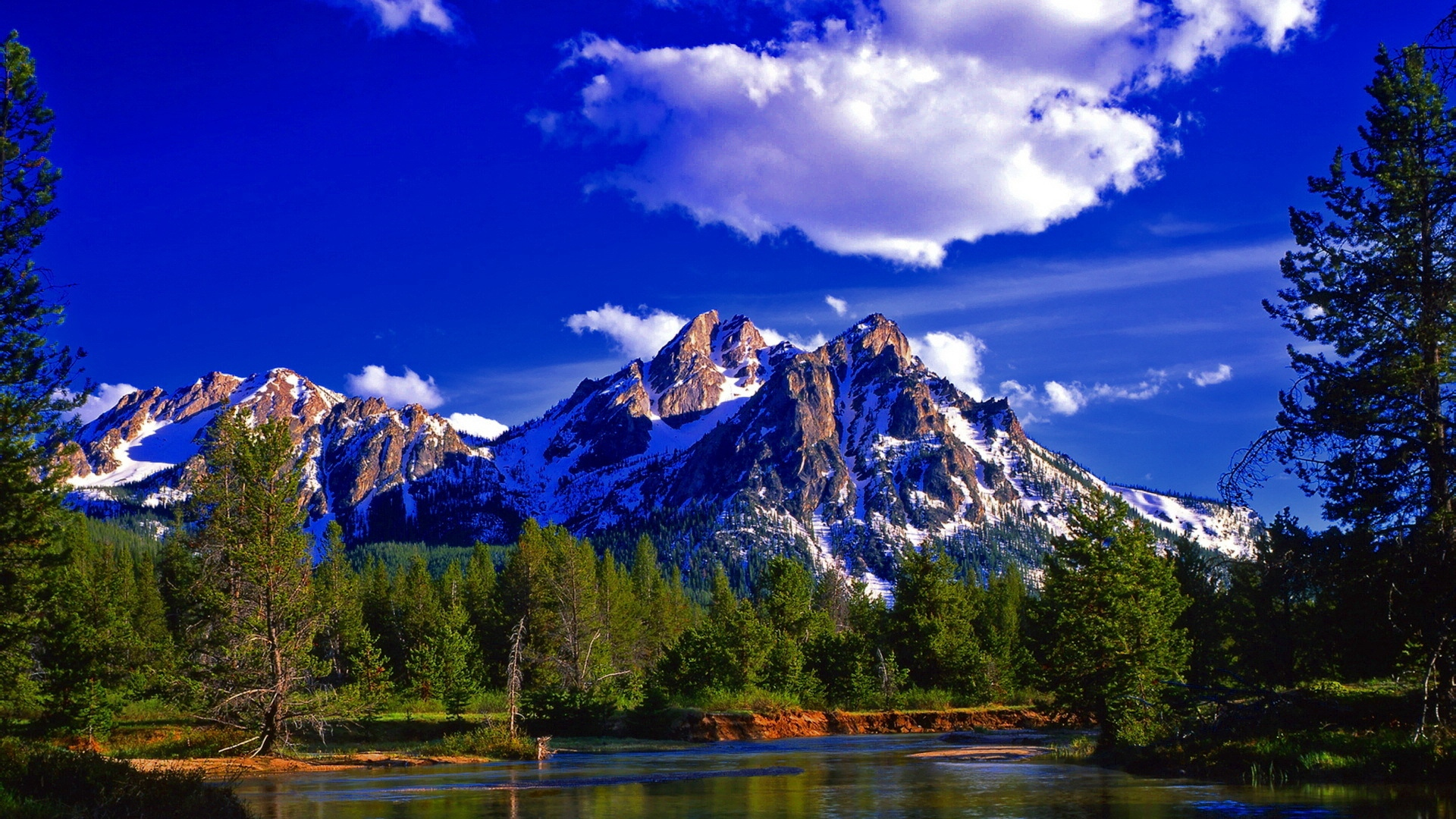 Summer Mountains Wallpapers Wallpaper Cave