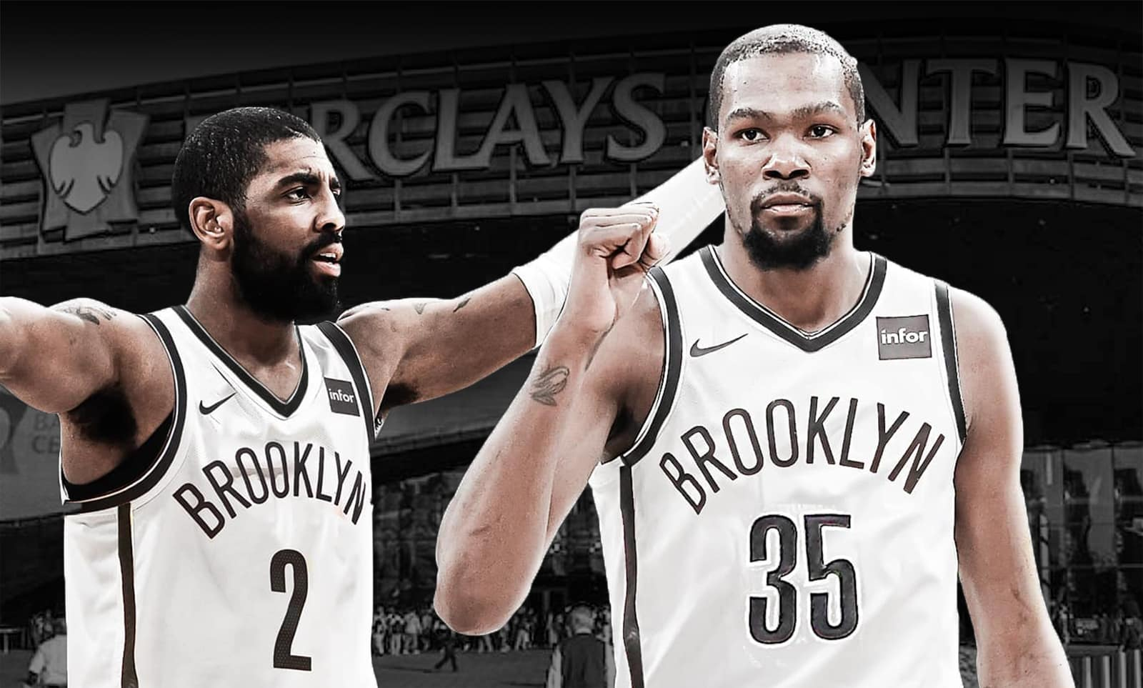 Little brother no more: Kyrie Irving, Kevin Durant are Brooklyn Nets