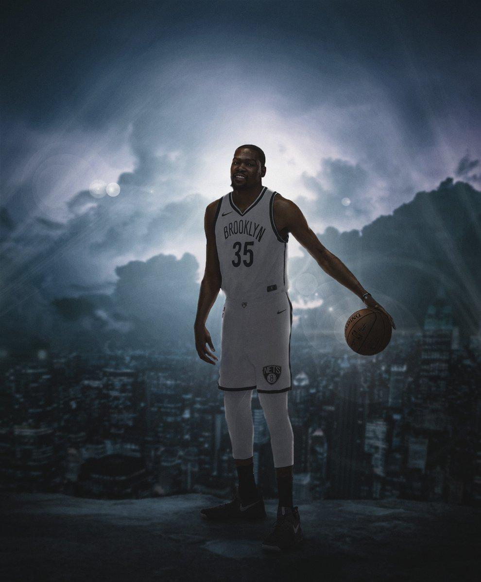 Kevin Durant Brooklyn Nets Wallpapers Wallpaper Cave
