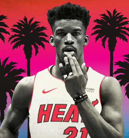 Jimmy Butler Miami Heat Wallpapers Wallpaper Cave
