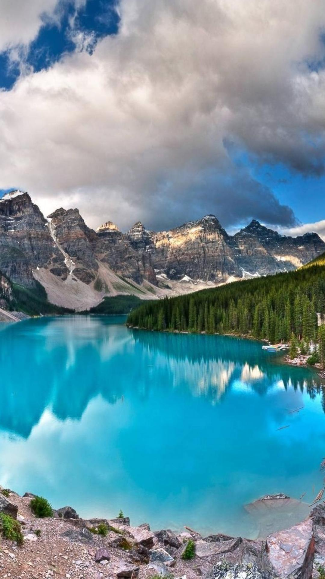Moraine Lake Banff National Park Wallpapers Wallpaper Cave