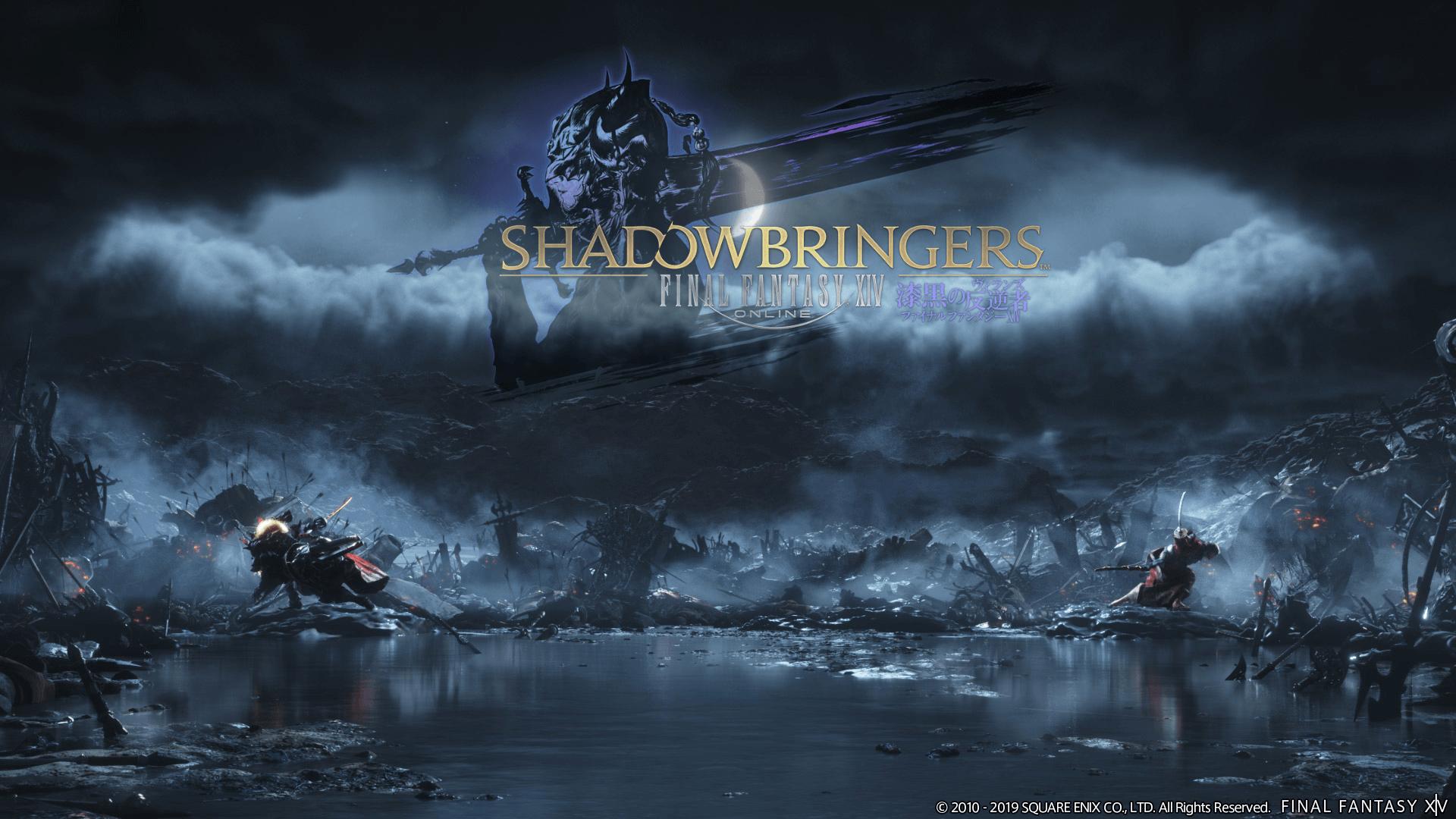 Final Fantasy Xiv Shadow Bringers Wallpapers Wallpaper Cave