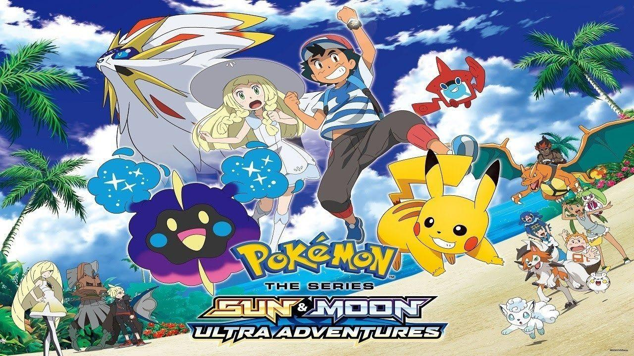 Pokemon The Series Sun And Moon Ultra Legends Wallpapers Wallpaper Cave