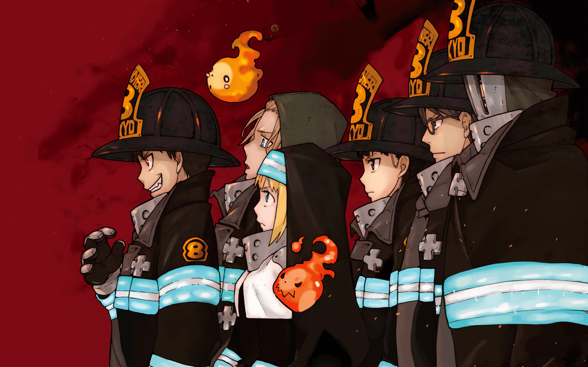 Fire Force Wallpapers Wallpaper Cave