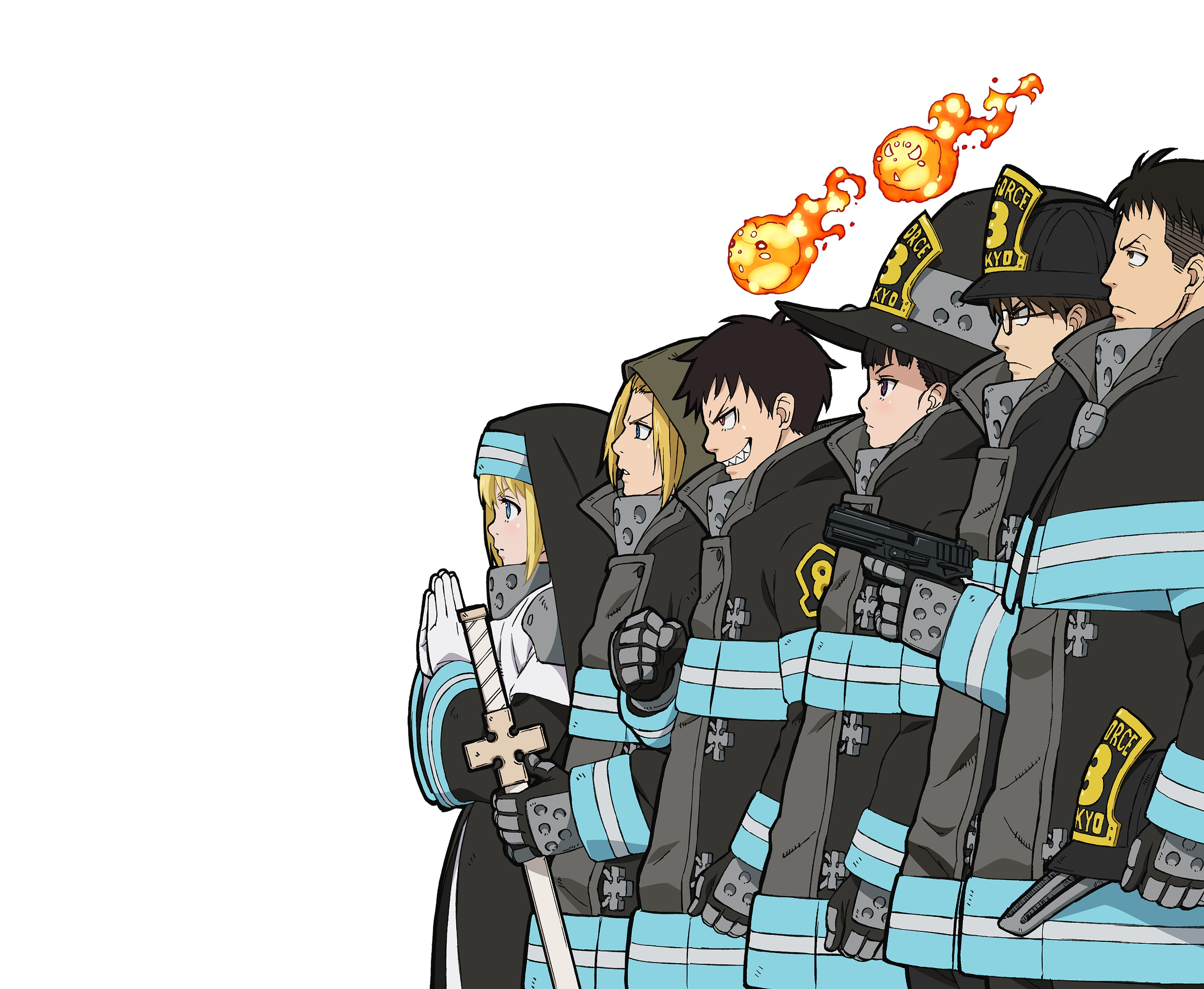 Fire Force HD Wallpapers