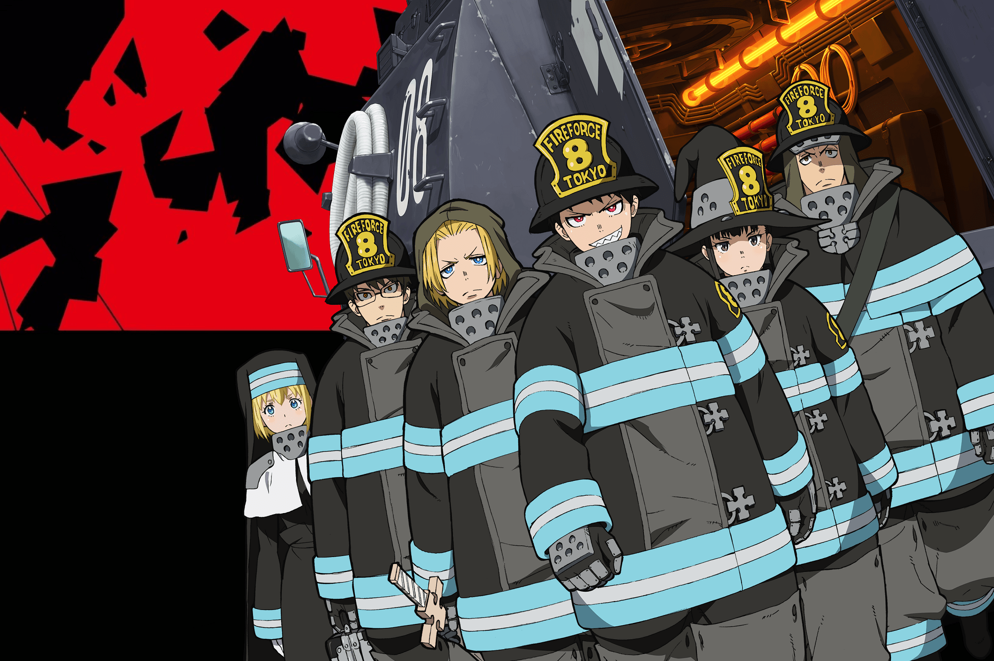 Fire Force Hd Desktop Wallpapers Wallpaper Cave