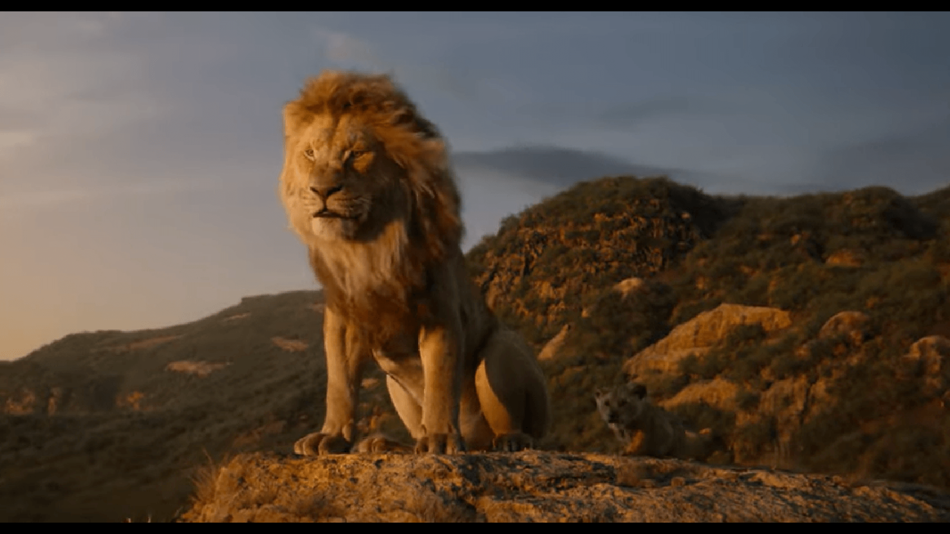 New Lion King trailer shows off the talking animals