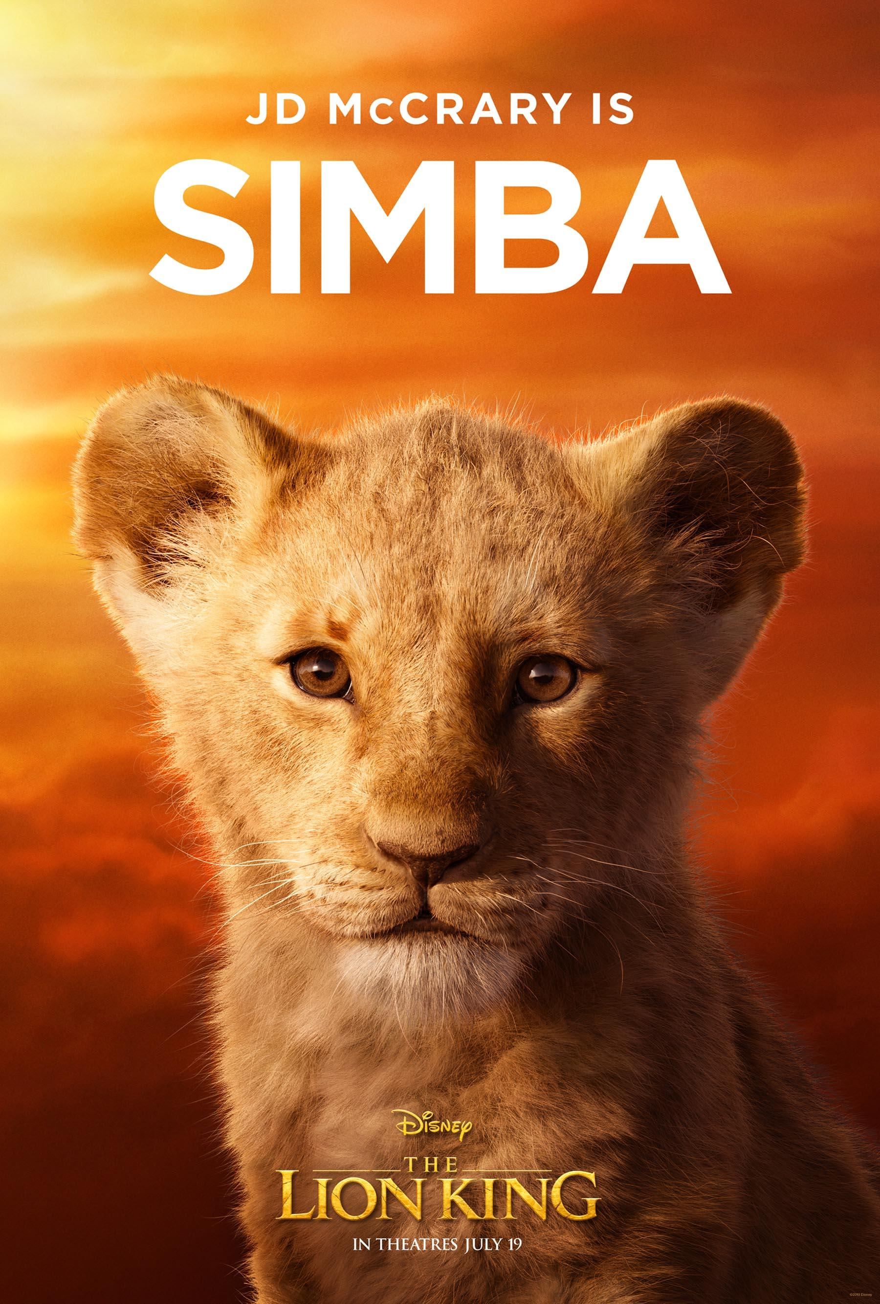 The Lion King posters turns Beyoncé, Donald Glover, more into animal