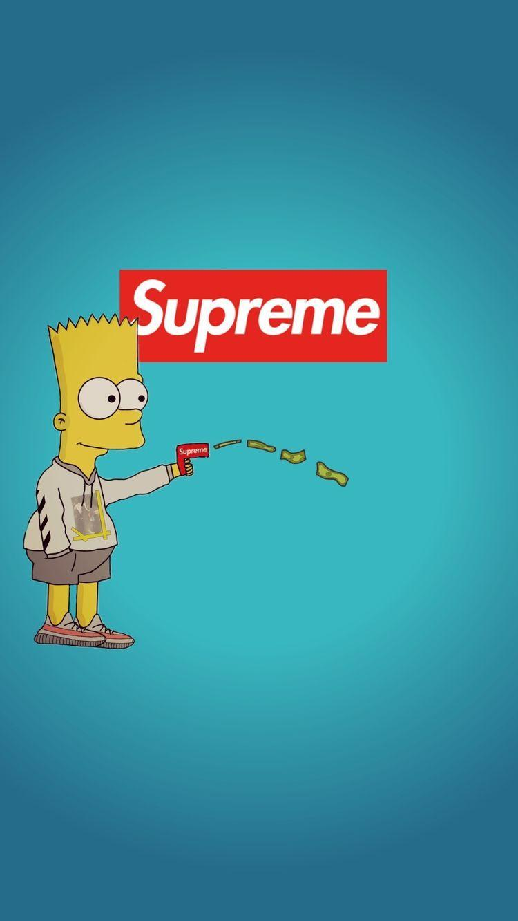 Bart Simpson Lil Yachty Wallpapers Wallpaper Cave