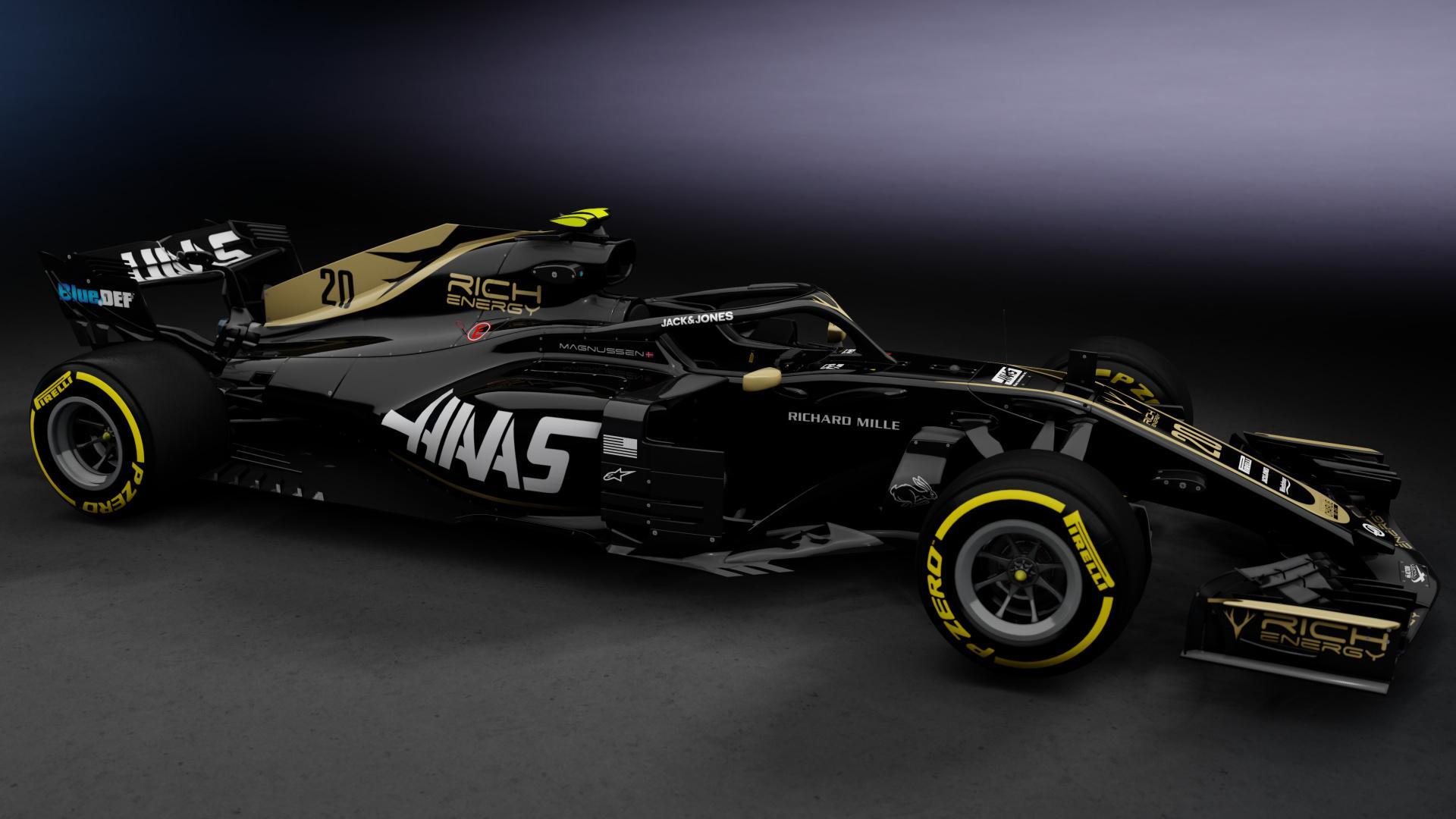 Haas F1 Teams Background 6