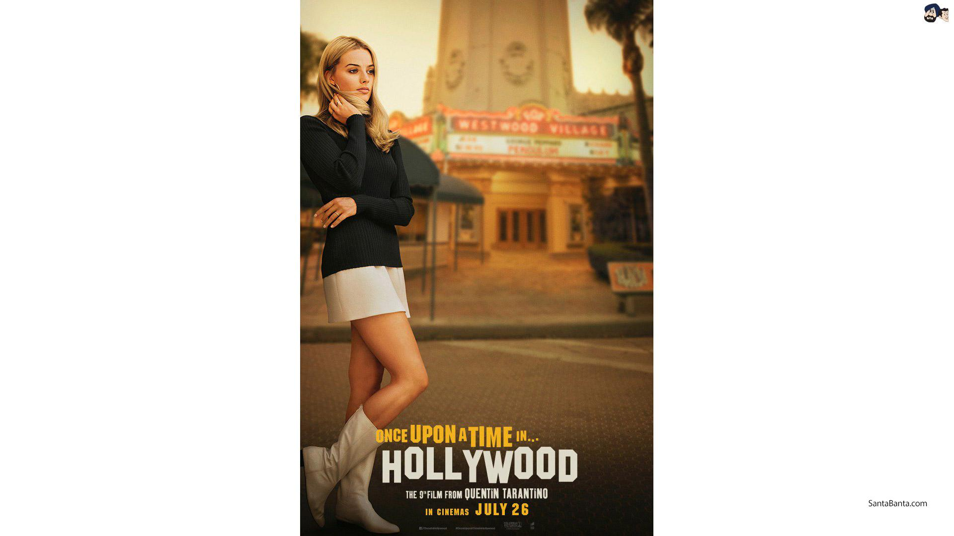 Quentin Tarantino`s Once Upon A Time In Hollywood ft. Margot Robbie