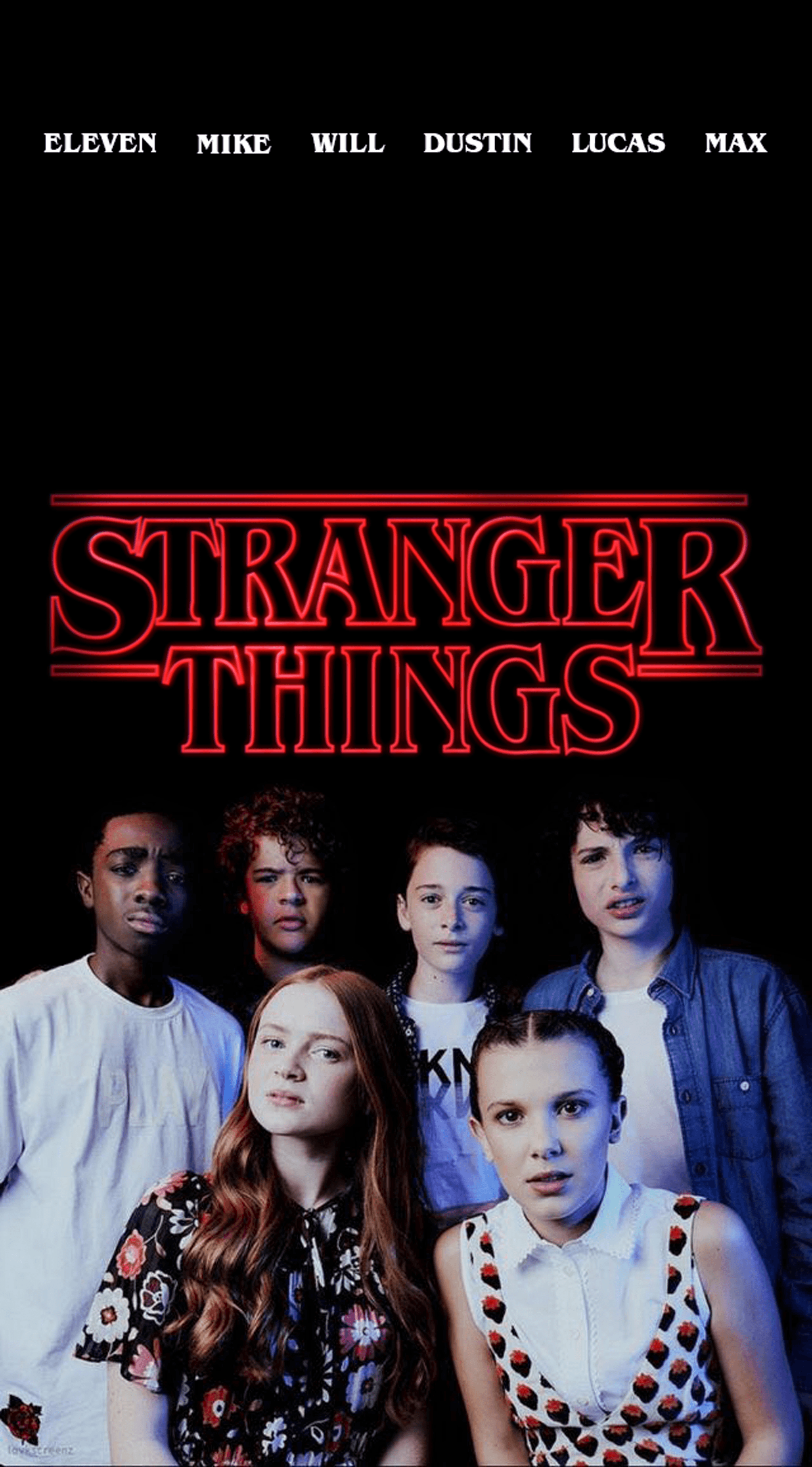 Stranger Things Eleven And Mike Wallpapers Wallpaper Cave