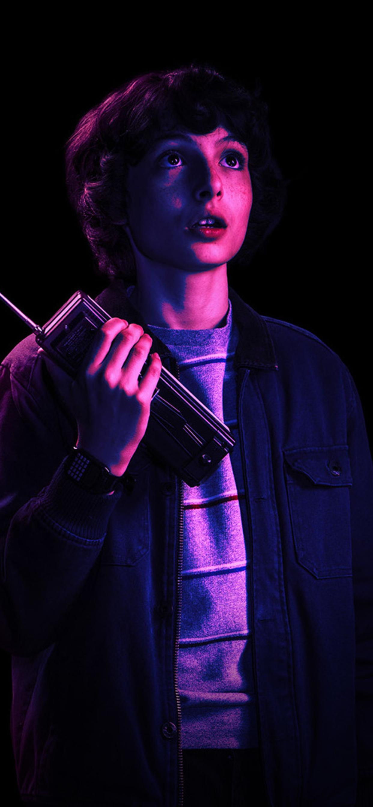 El And Mike Stranger Things Wallpapers Wallpaper Cave