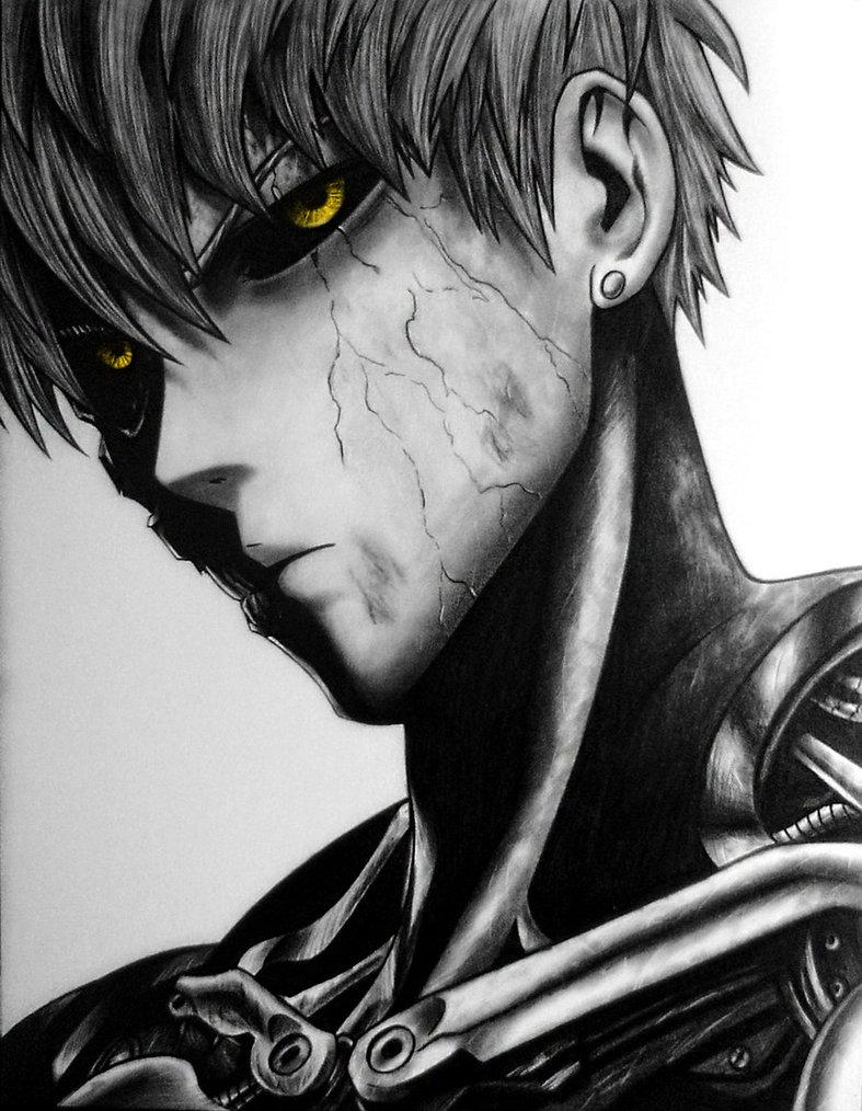 Genos One Punch Man Wallpapers Wallpaper Cave