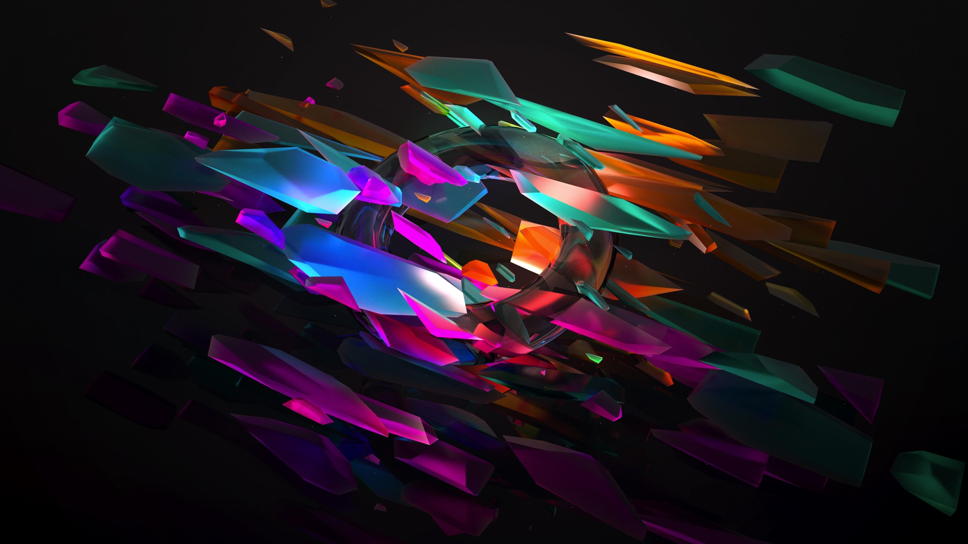 Abstract Shapes 4k Wallpapers Wallpaper Cave