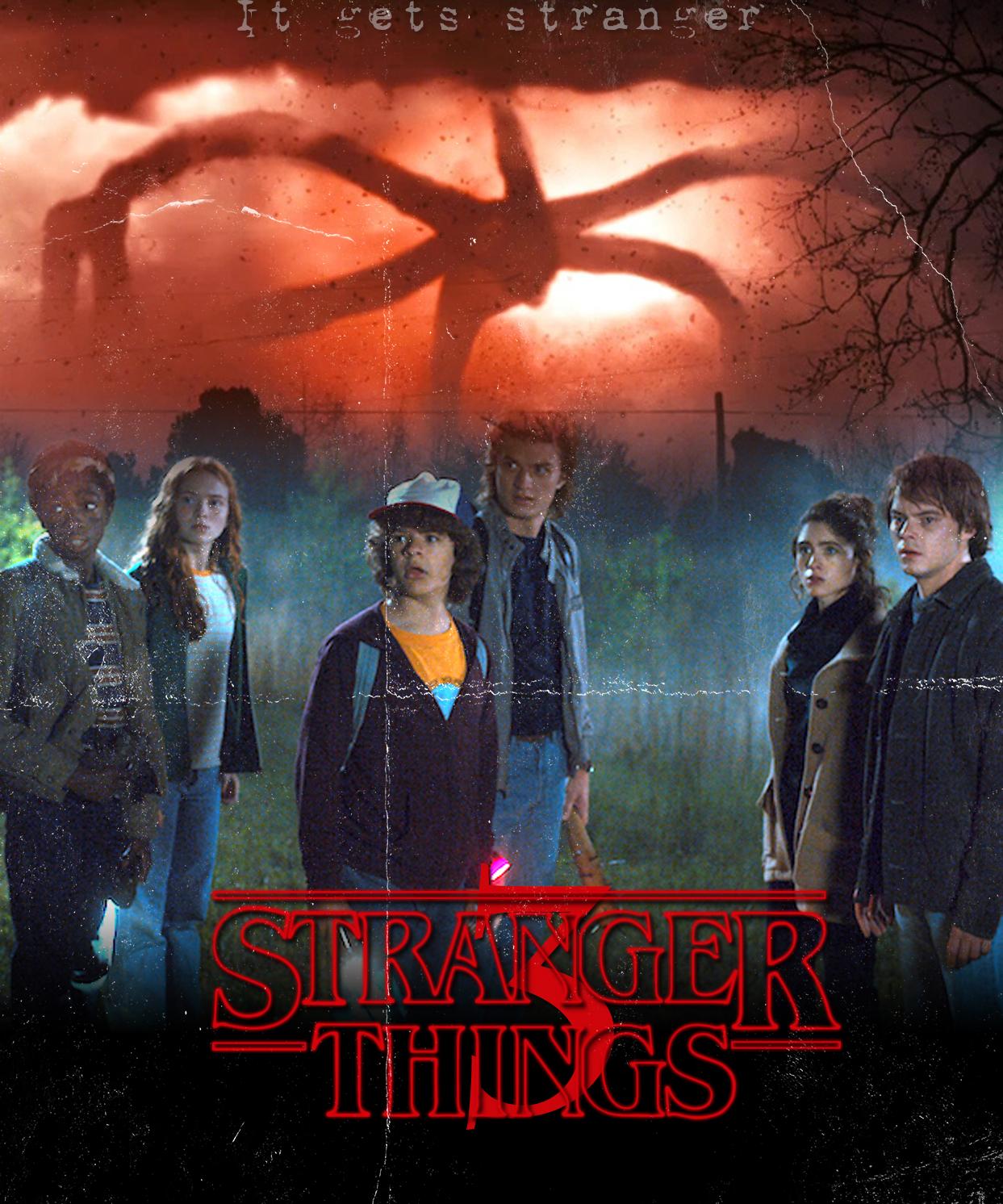 Stranger Things 3 Wallpapers - Wallpaper Cave