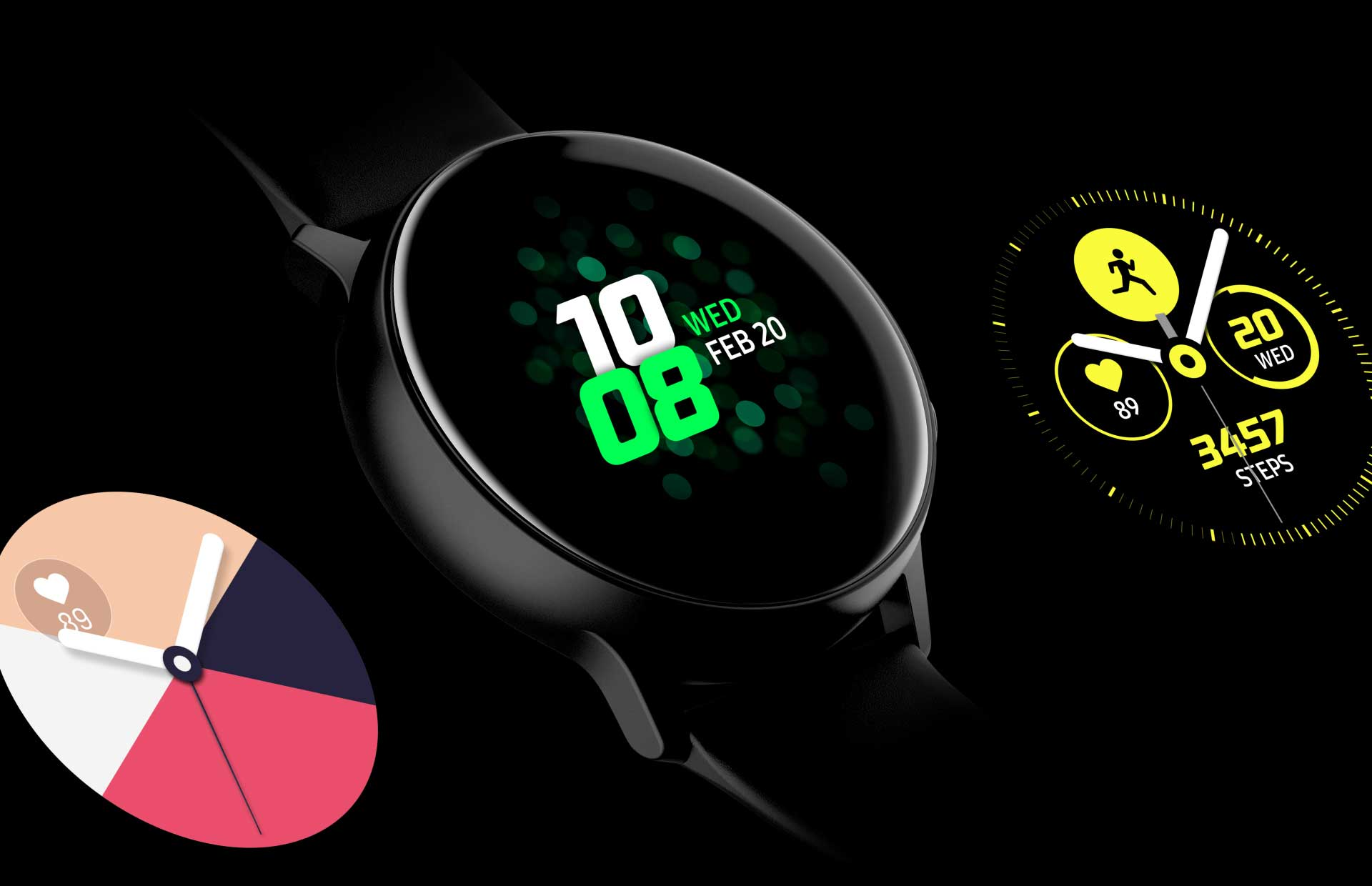 Samsung Galaxy Watch Active Wallpapers Wallpaper Cave