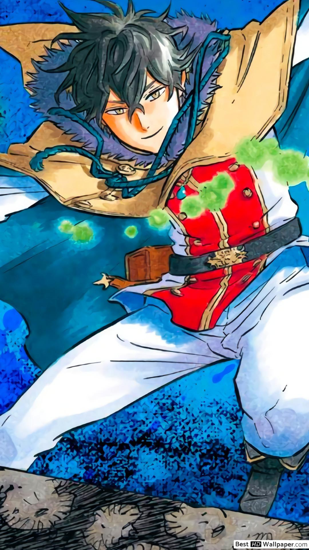 Yuno Black Clover Wallpaper Iphone Top Anime Wallpaper