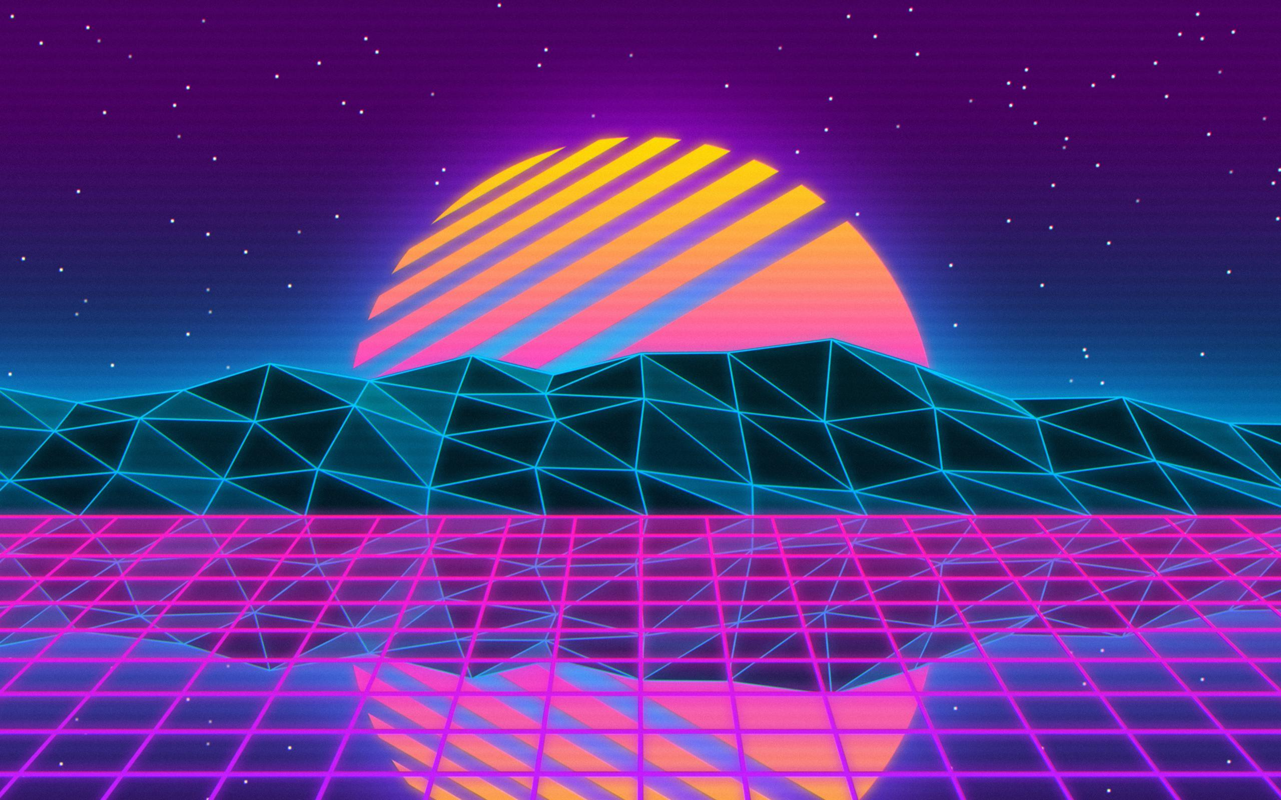 2560x1600 Vaporwave 2560x1600 Resolution HD 4k Wallpapers, Image